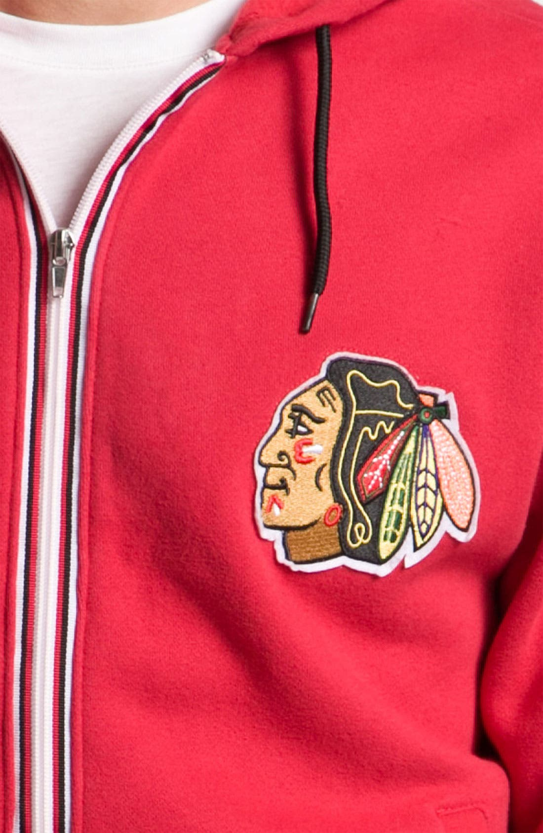'Chicago Blackhawks' Hoodie,                             Alternate thumbnail 3, color,                             600