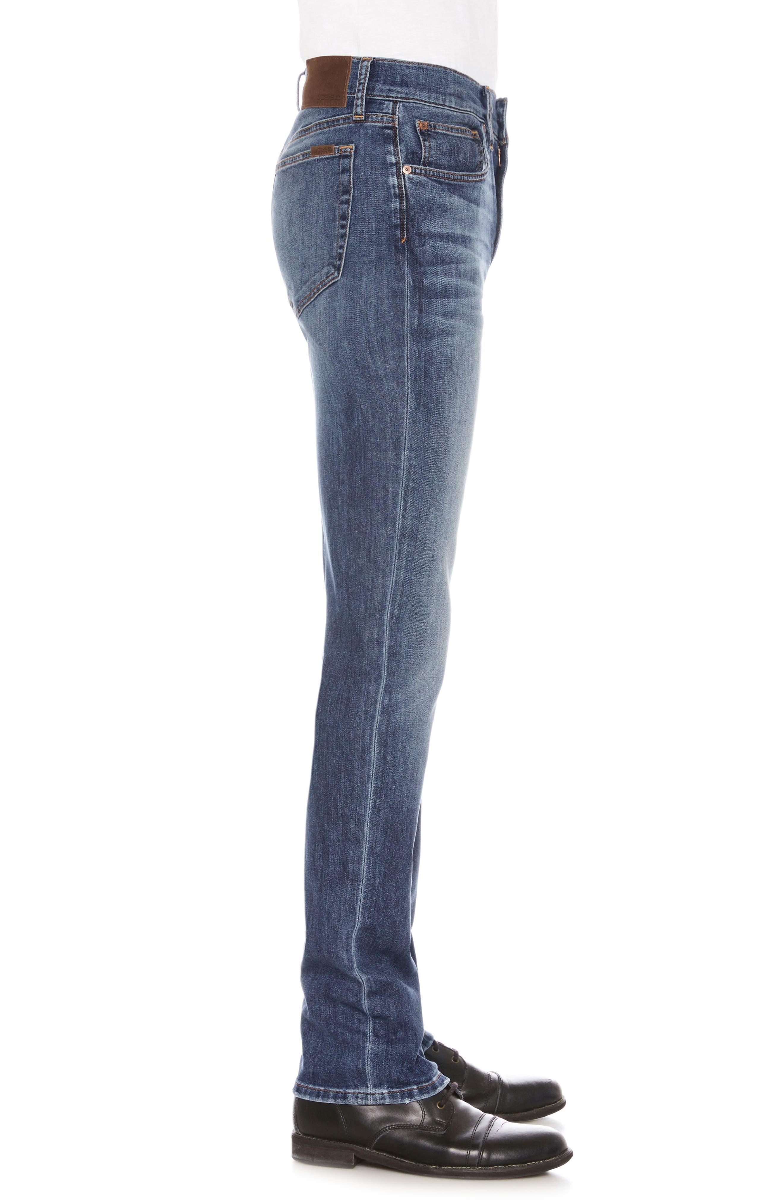 Brixton Slim Straight Leg Jeans,                             Alternate thumbnail 3, color,                             410