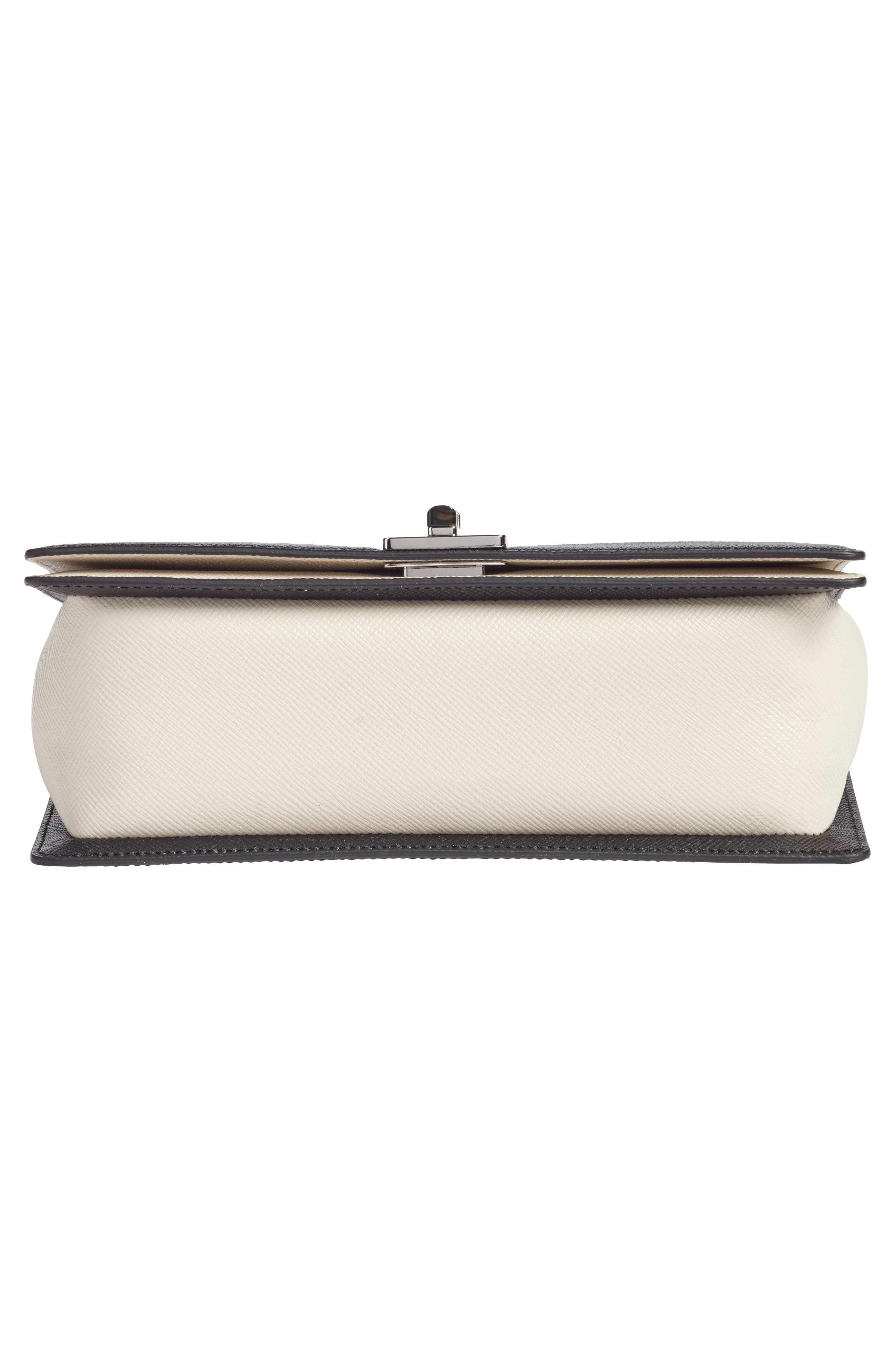 Roberta Evolution Leather Crossbody Bag,                             Alternate thumbnail 6, color,                             110