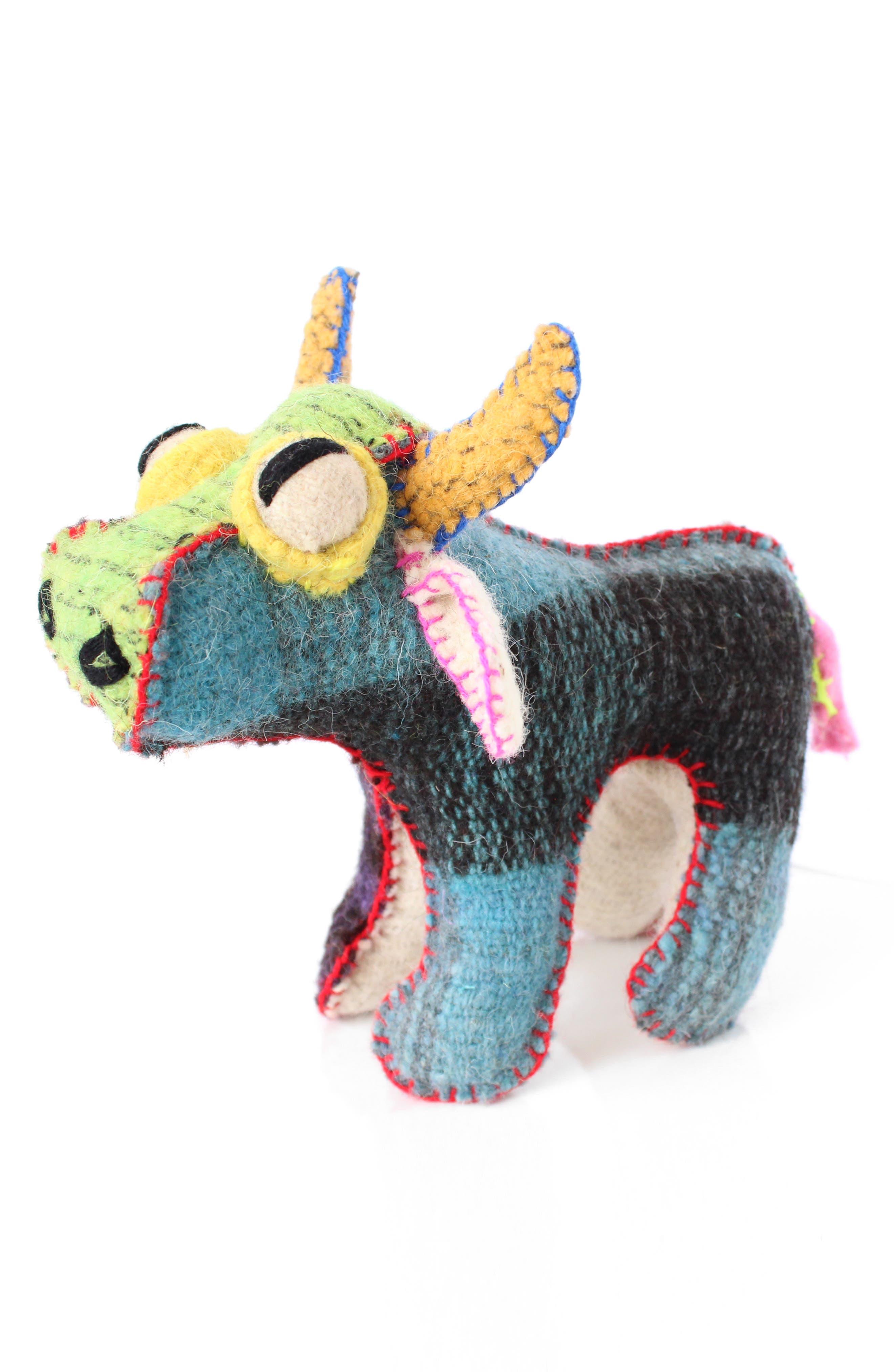Bull Stuffed Animal,                             Alternate thumbnail 5, color,                             960