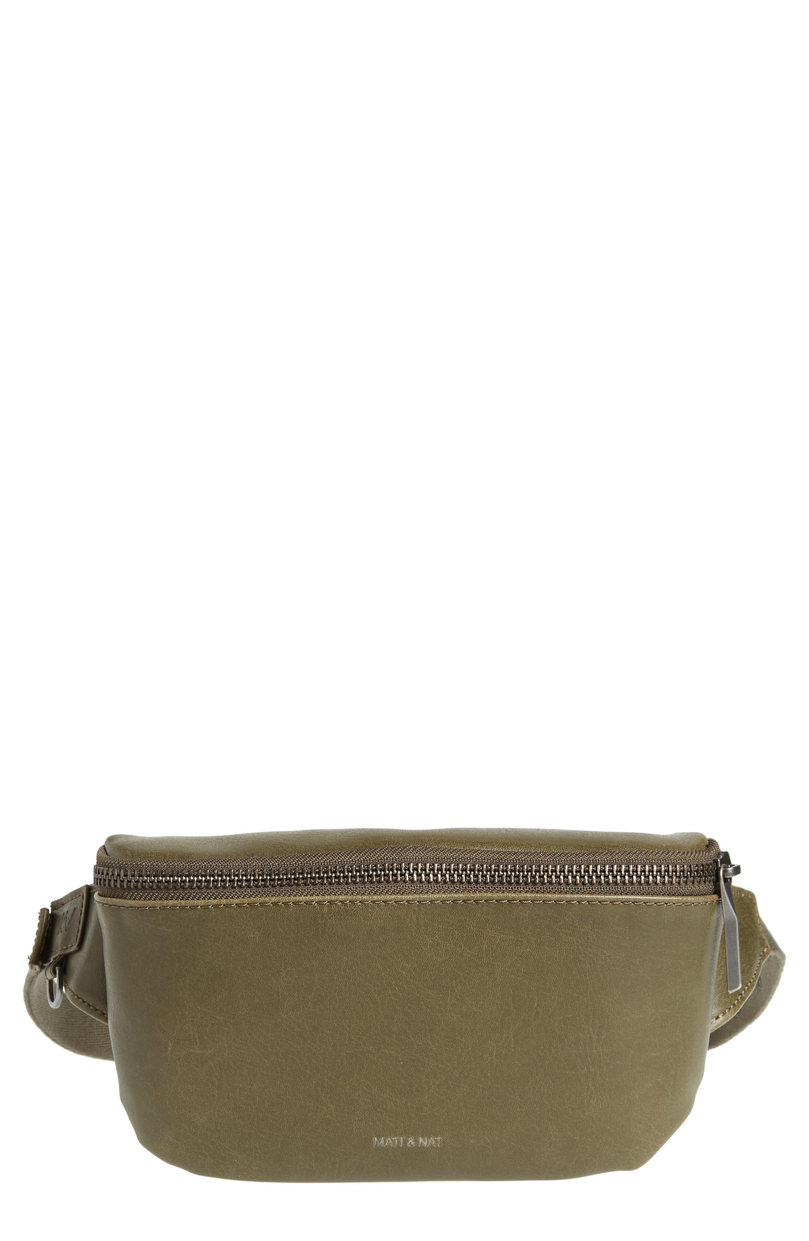 Matt & Nat Vie Faux Leather Belt Bag - Green