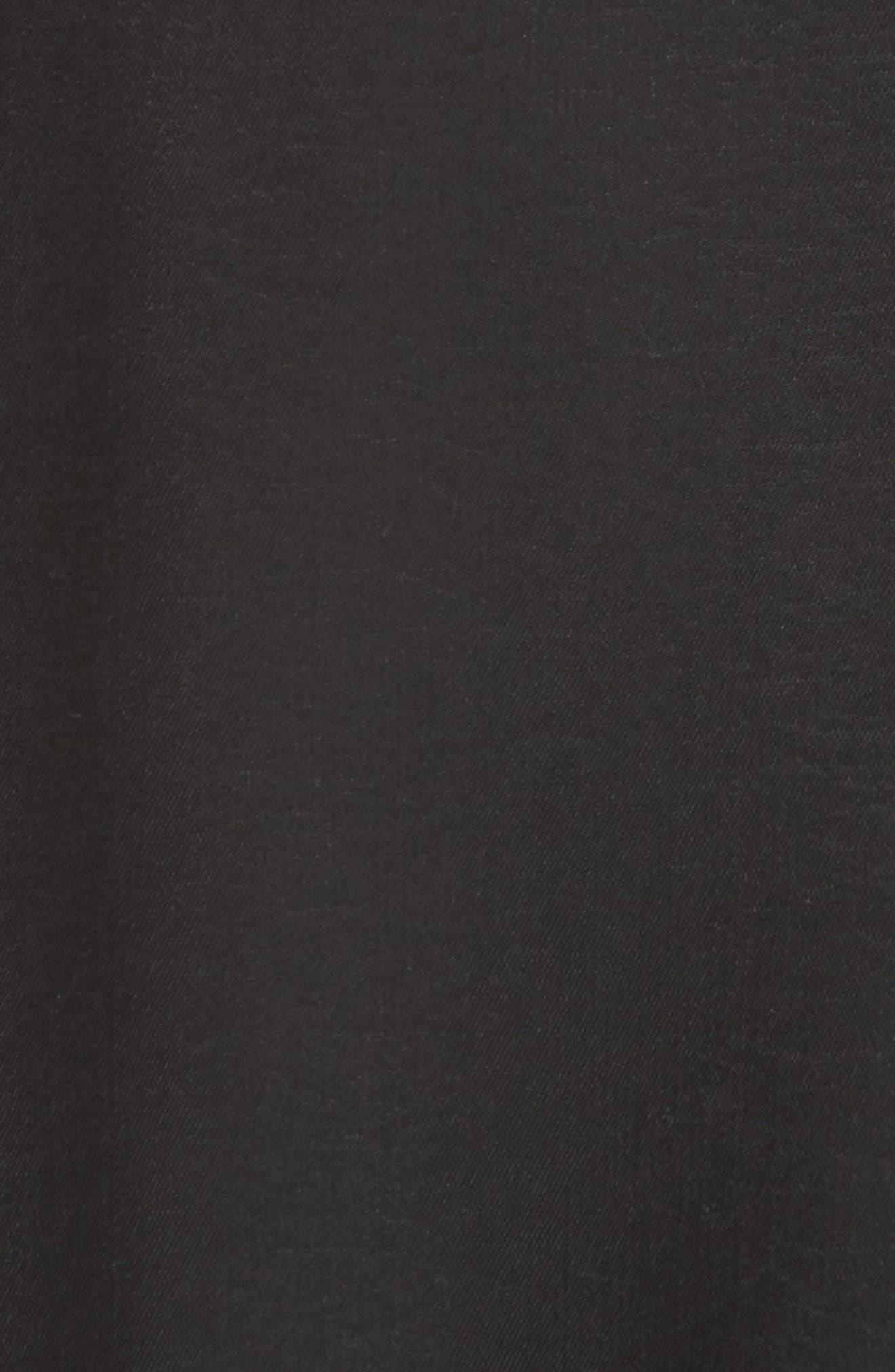 Ella Asymmetrical Ruffle Skirt,                             Alternate thumbnail 5, color,                             001