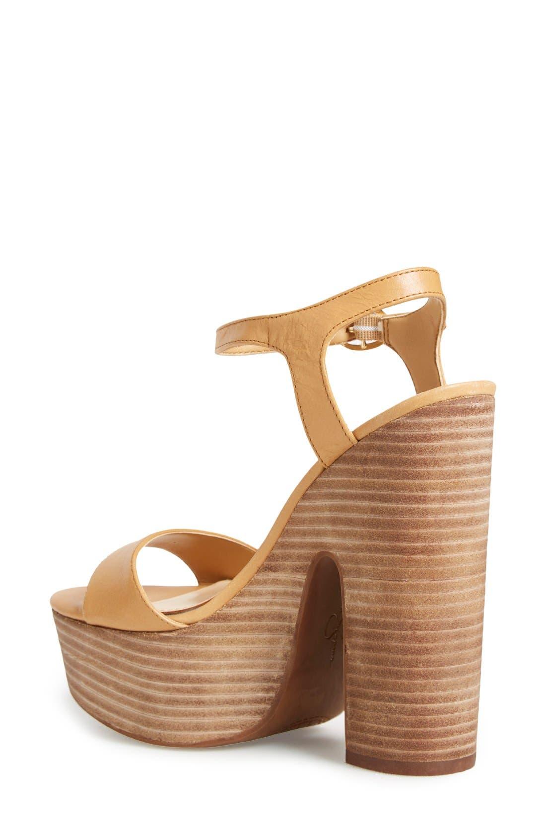 'Whirl' Platform Sandal,                             Alternate thumbnail 2, color,                             281