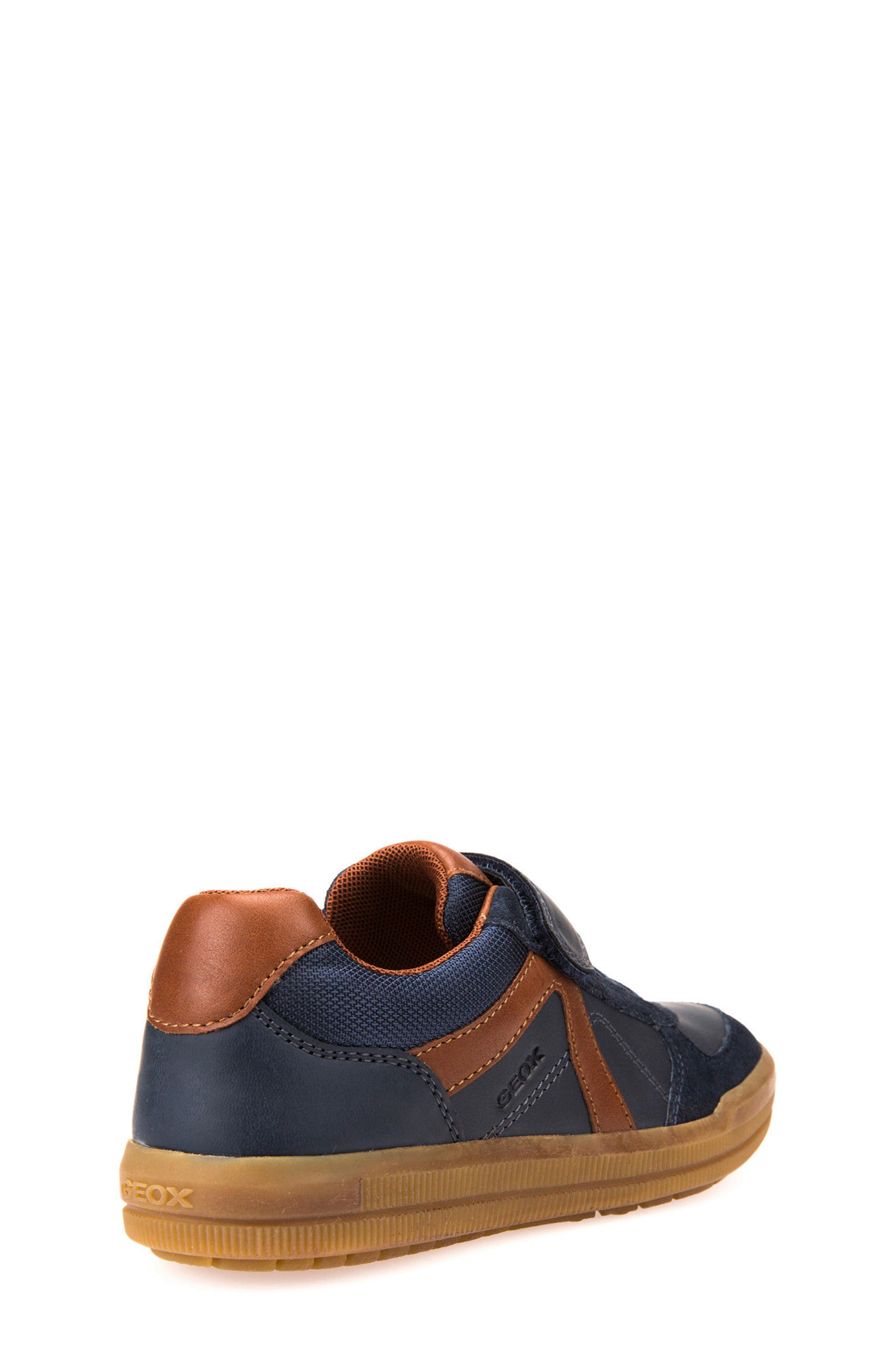 Arzach Low Top Sneaker,                             Alternate thumbnail 2, color,                             NAVY/ BROWN
