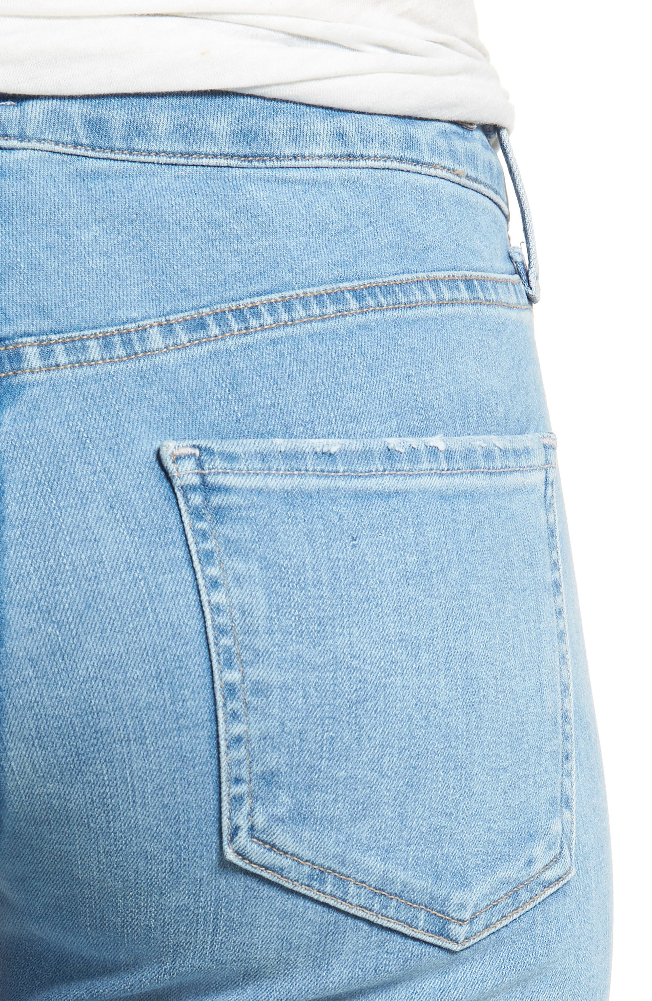 Arielle Slim Jeans,                             Alternate thumbnail 4, color,                             455
