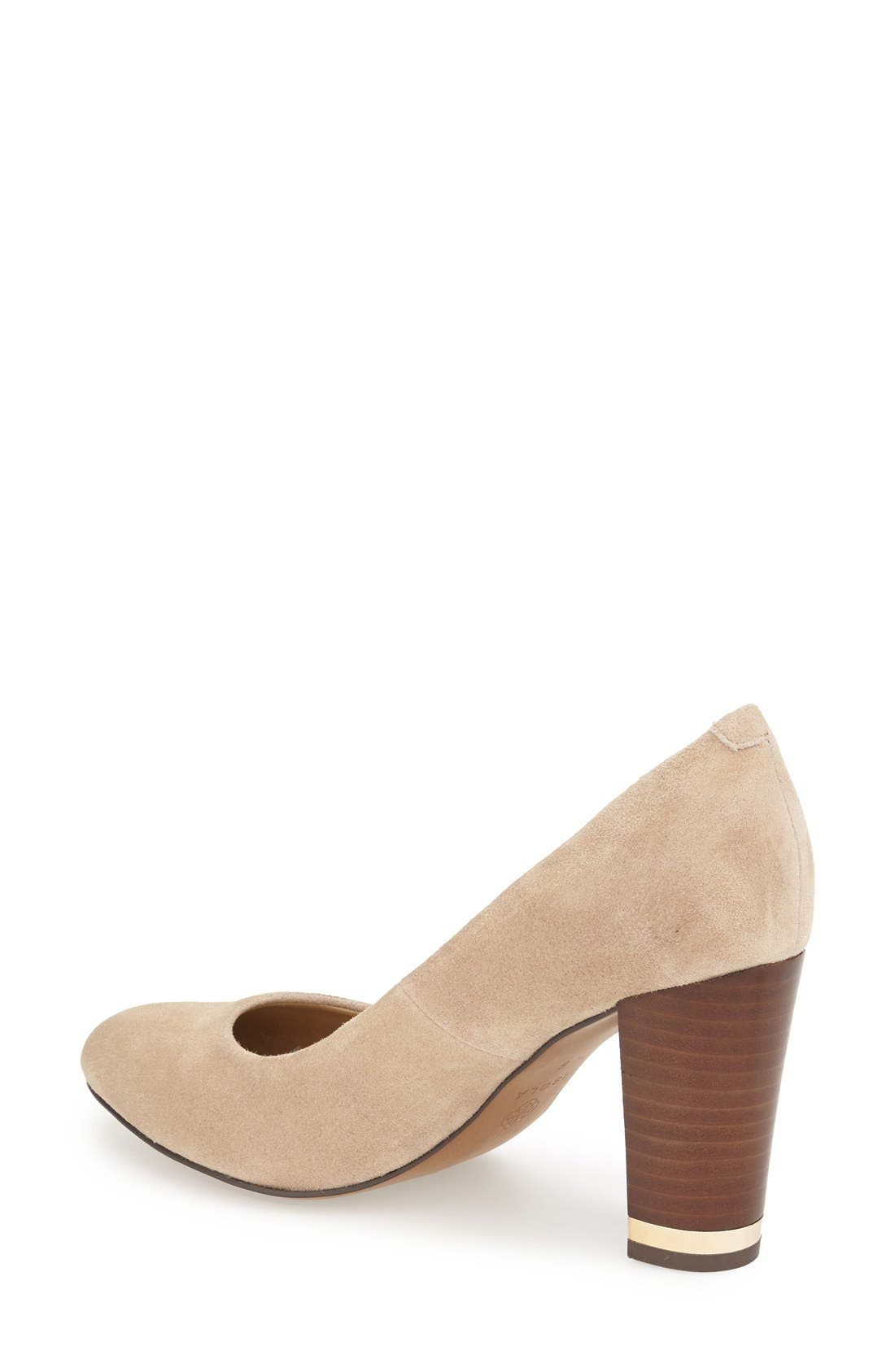 'Eleni II' Block Heel Pump,                             Alternate thumbnail 12, color,