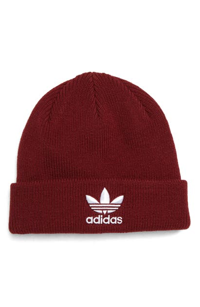 Adidas Originals TREFOIL BEANIE - RED