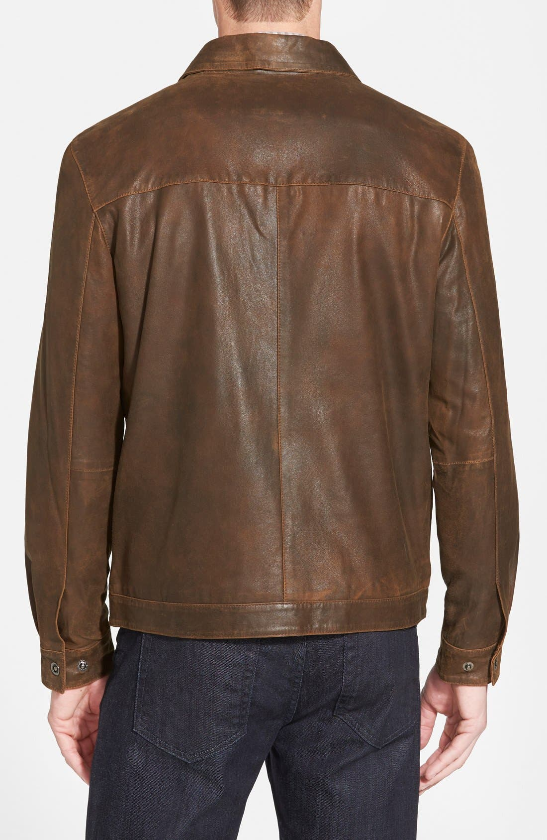 Suede Bomber Jacket,                             Alternate thumbnail 2, color,