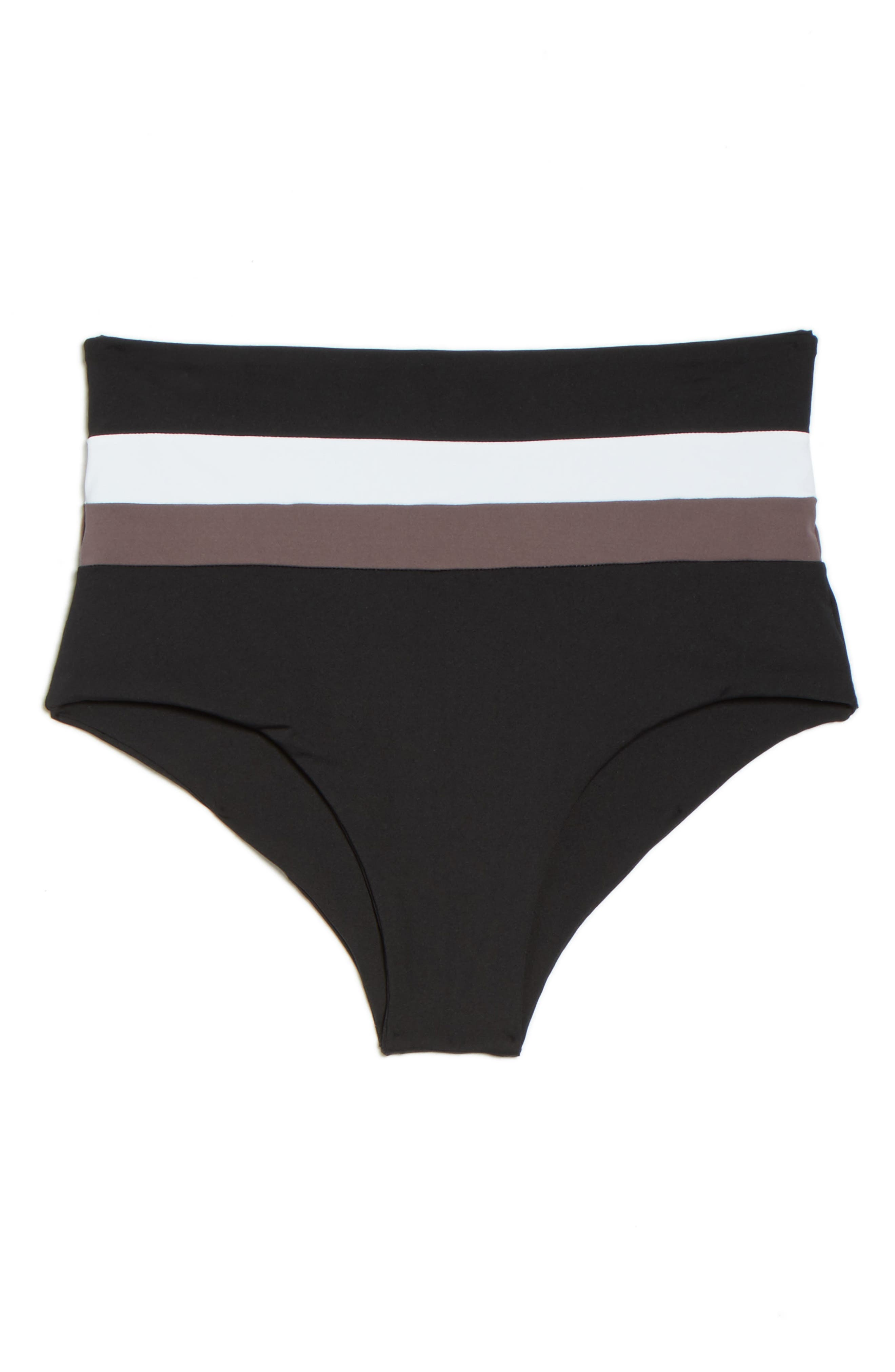 Portia Reversible Colorblock Bikini Bottoms,                             Alternate thumbnail 16, color,
