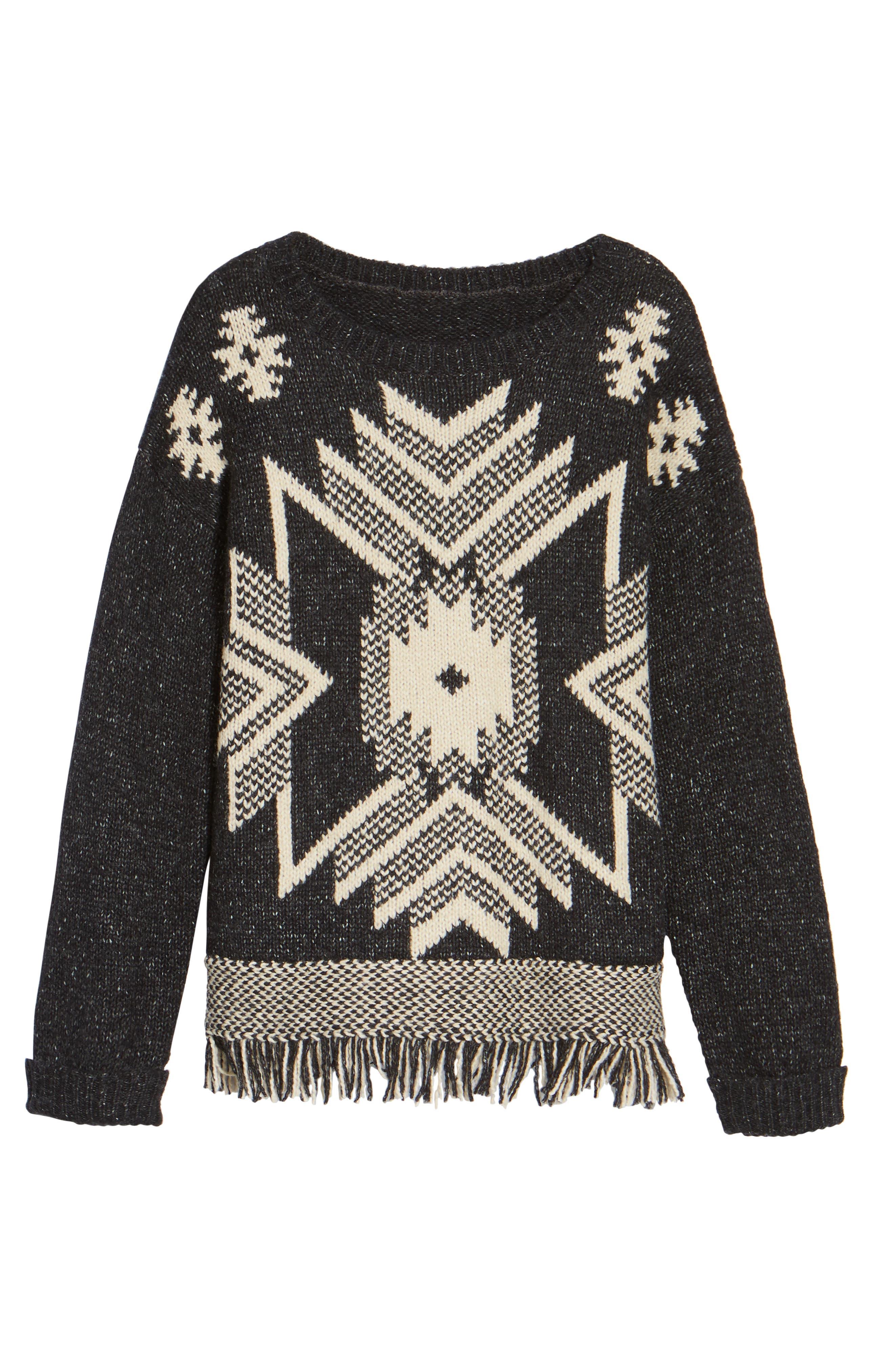 Fringe Sweater,                             Alternate thumbnail 21, color,