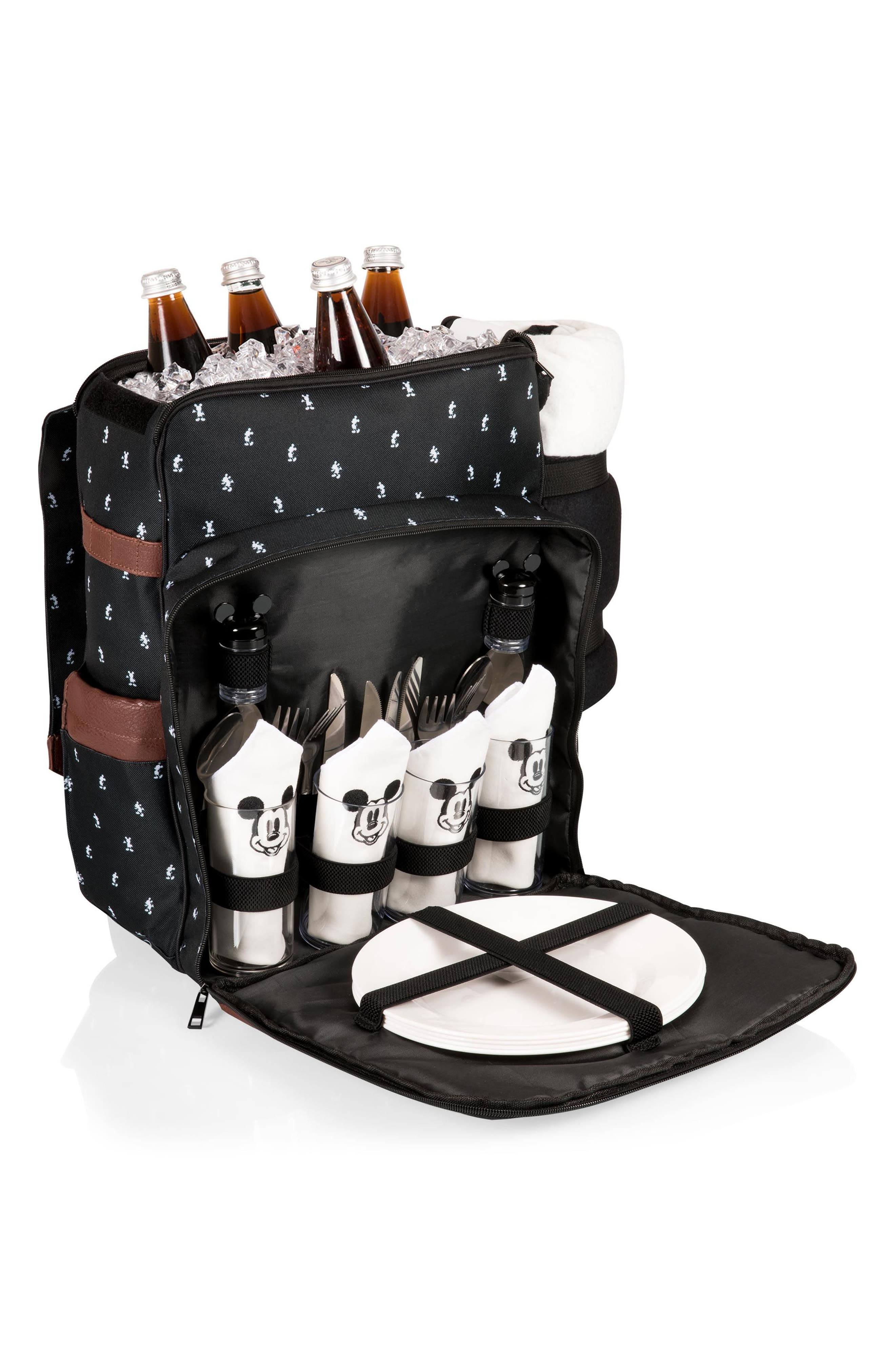 Mickey Mouse<sup>®</sup> Picnic Backpack,                             Alternate thumbnail 8, color,                             001