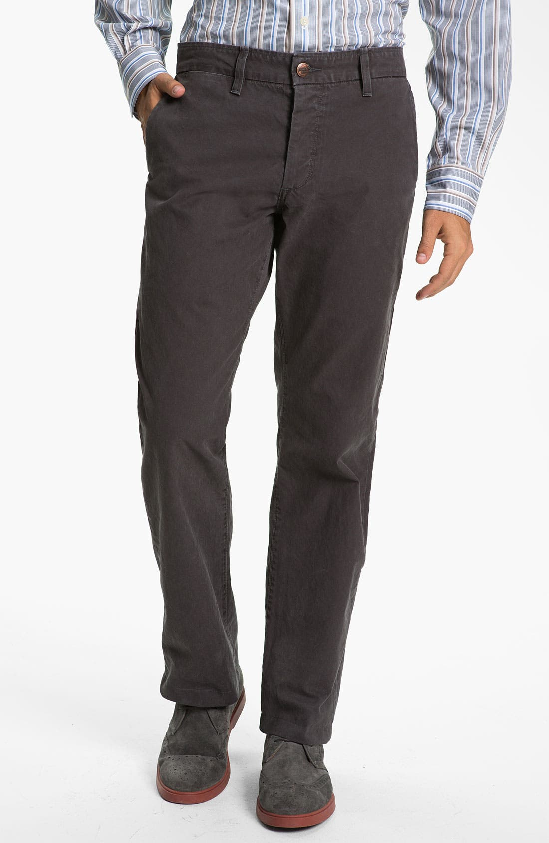 Kroon Wool & Cashmere Sportcoat & Grown & Sewn Twill Pants,                         Main,                         color, 020