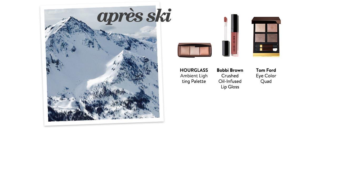 Makeup for an après ski date.