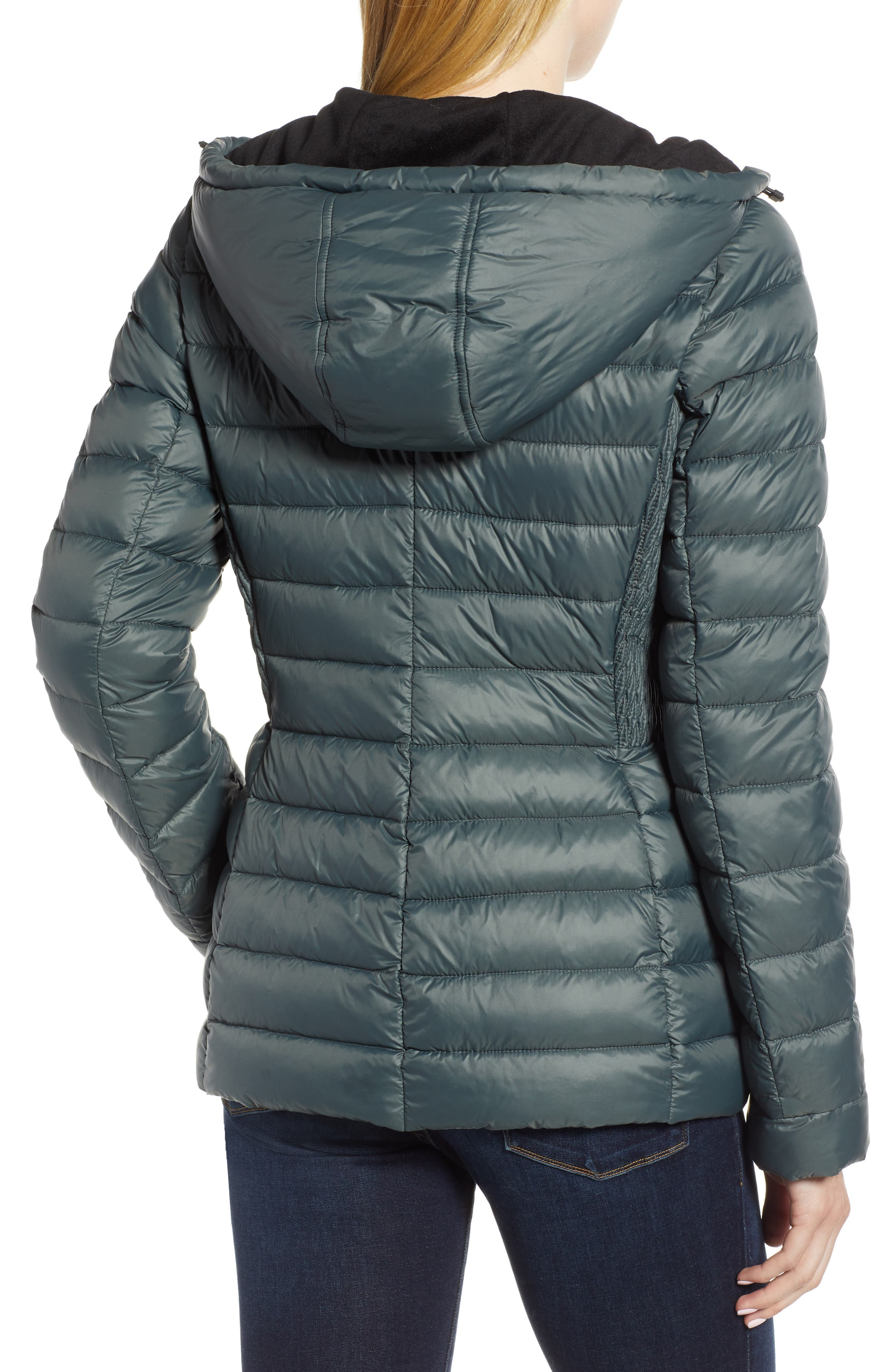 Sporty Hooded Puffer Jacket,                             Alternate thumbnail 2, color,                             309
