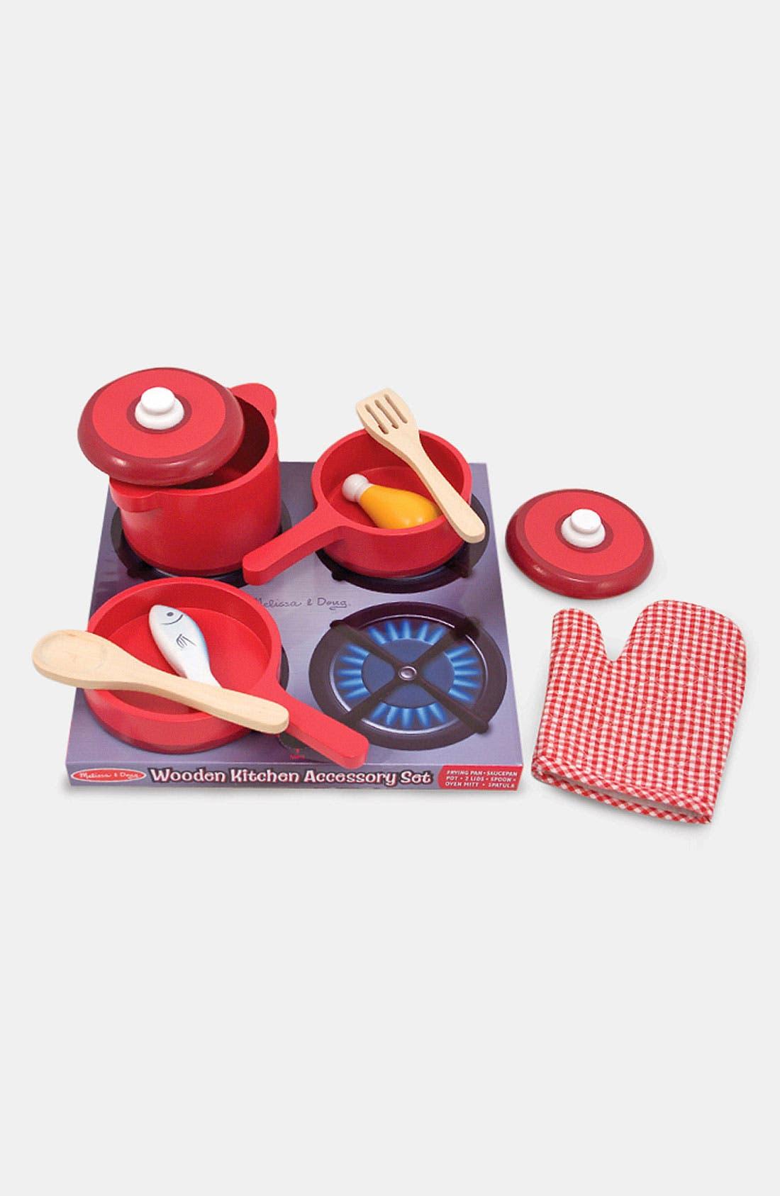 Toy Kitchen Accessory Set,                             Main thumbnail 1, color,                             VARIOUS