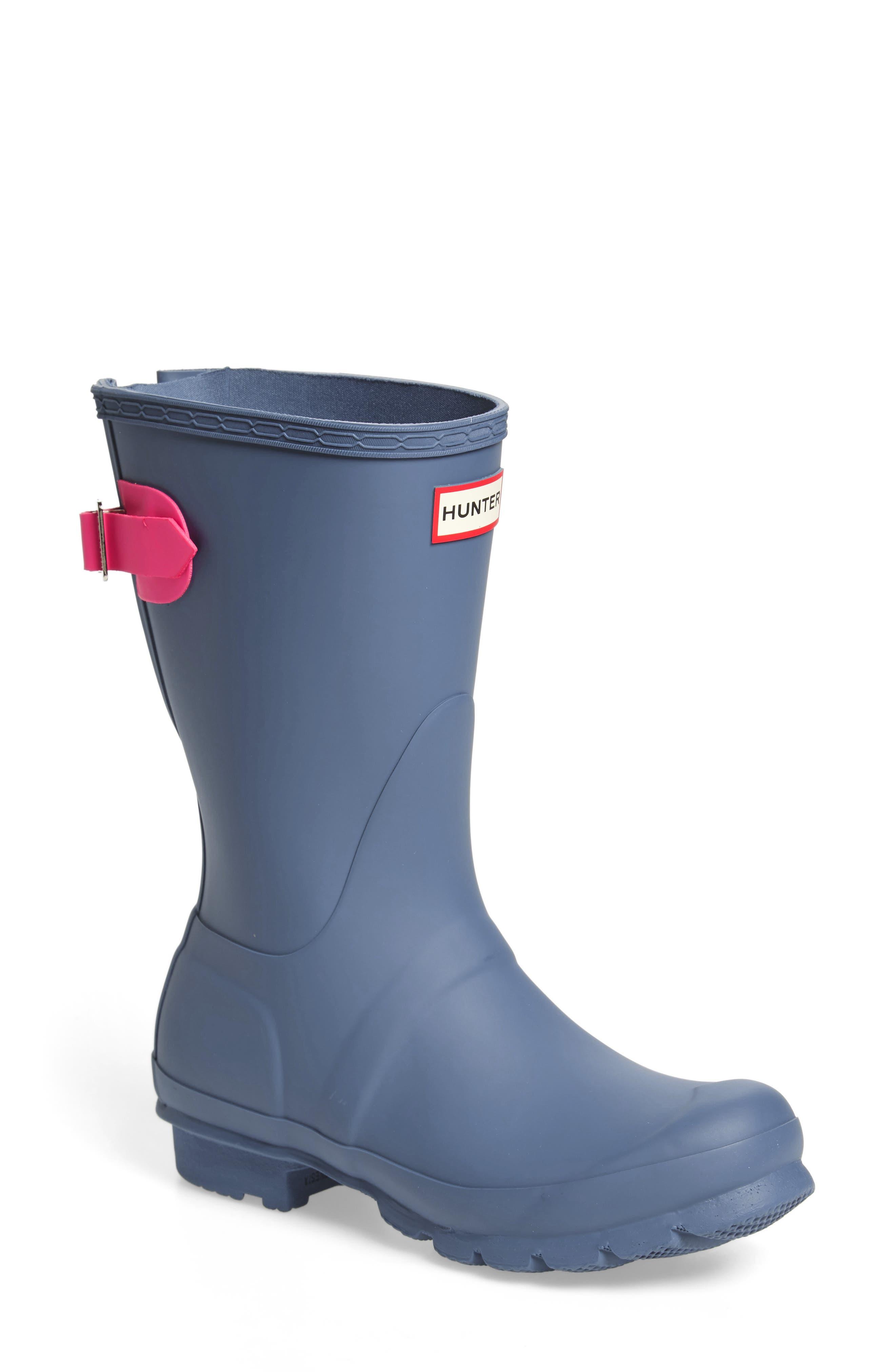 Original Short Back Adjustable Rain Boot,                             Main thumbnail 2, color,