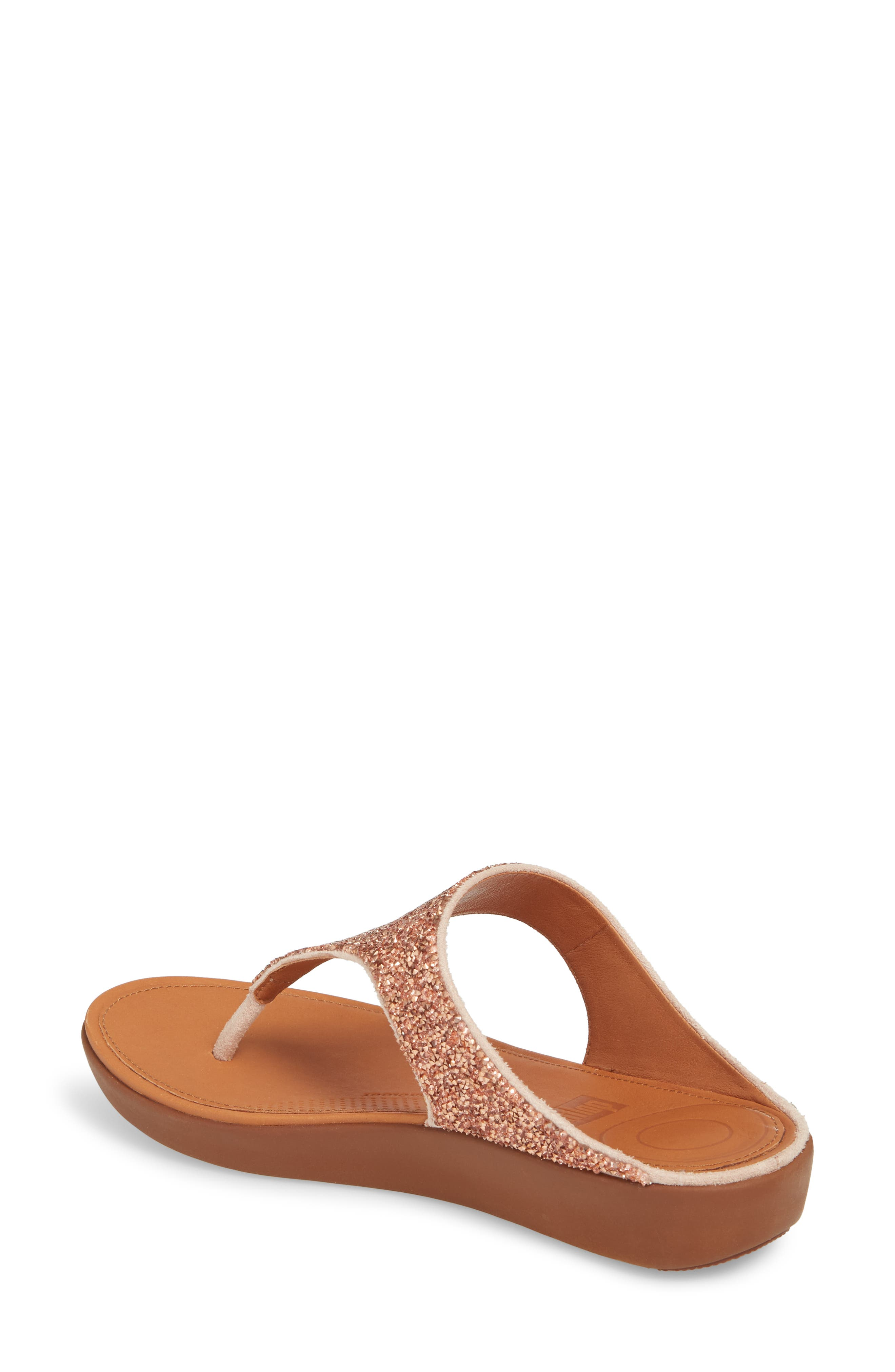 FITFLOP,                             Banda II Flip Flop,                             Alternate thumbnail 2, color,                             NUDE