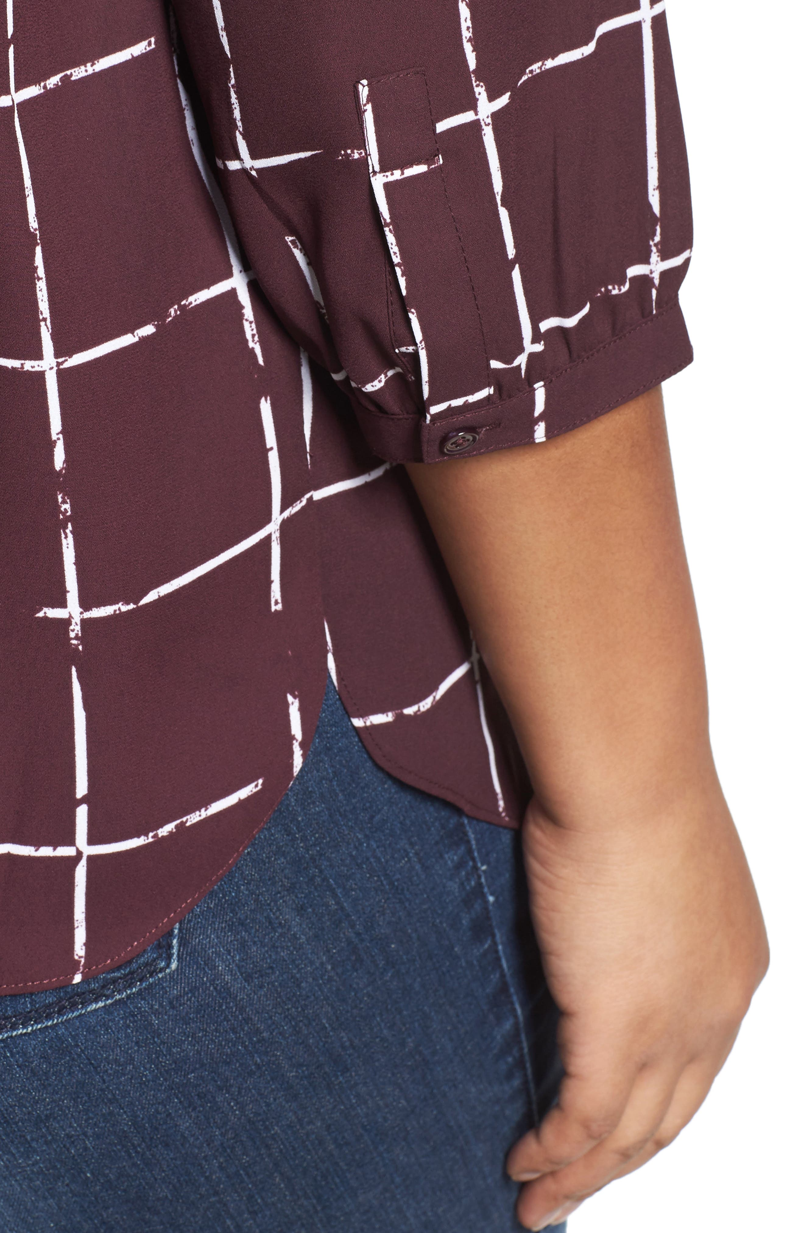 Henley Top,                             Alternate thumbnail 384, color,