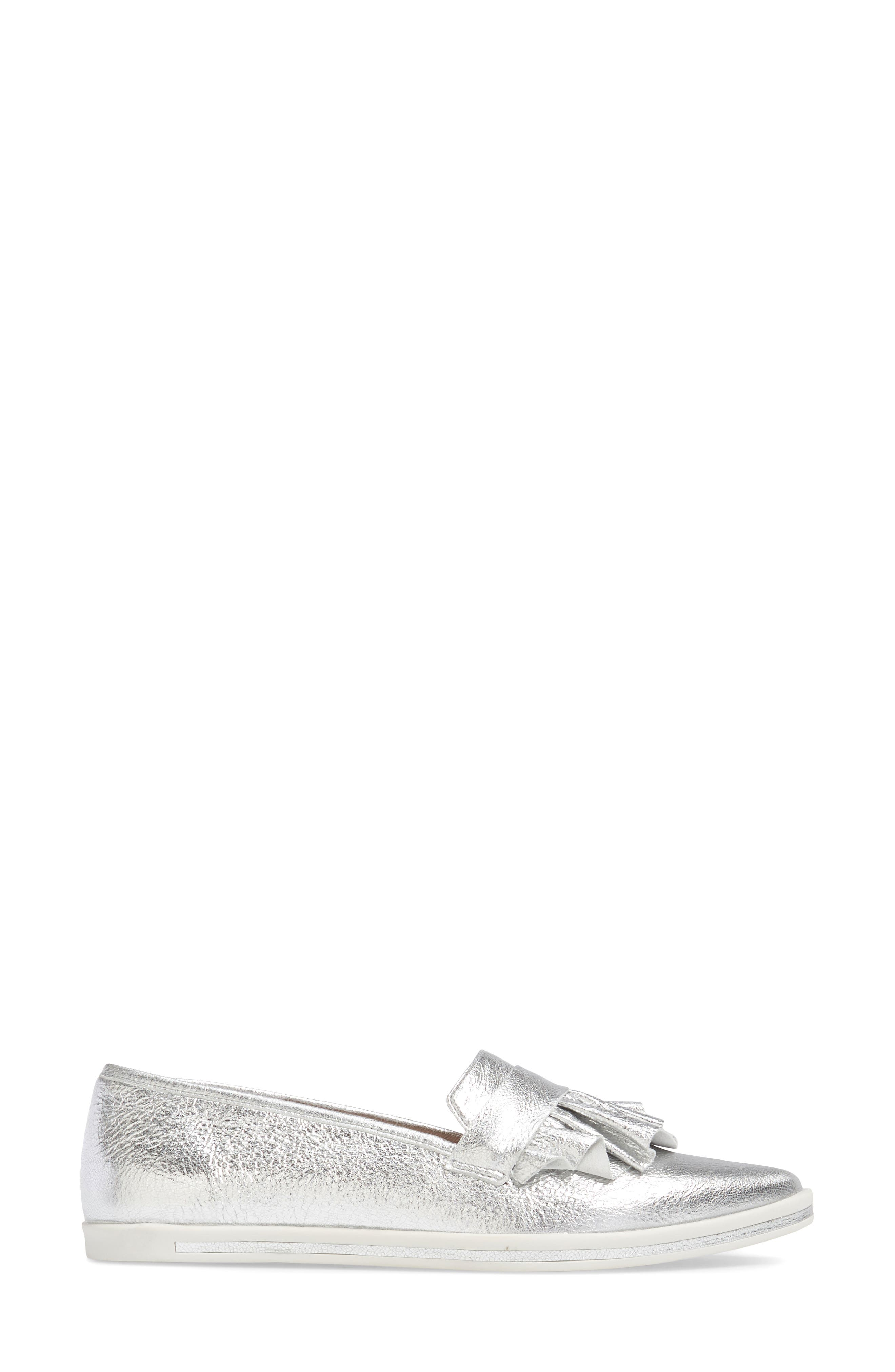 Taraji Ruffle Slip-On Sneaker,                             Alternate thumbnail 10, color,