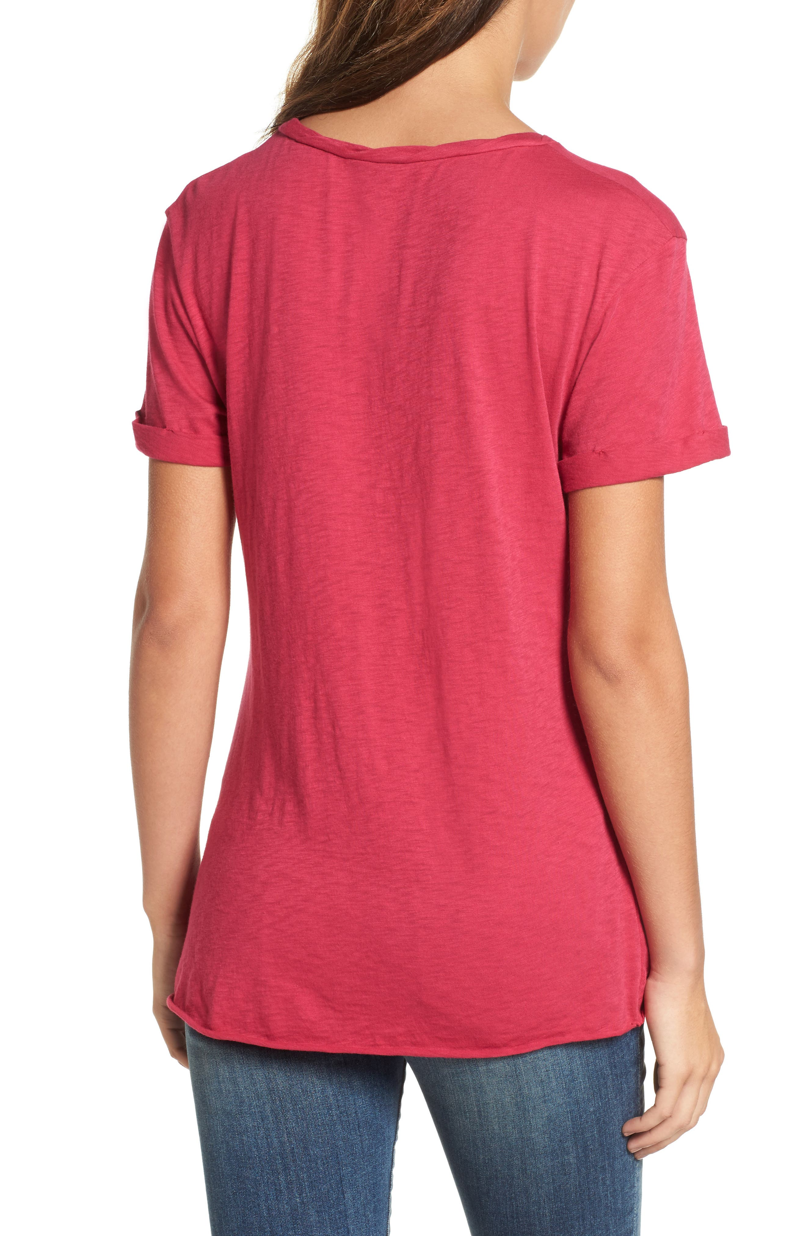 Knotted Tee,                             Alternate thumbnail 21, color,