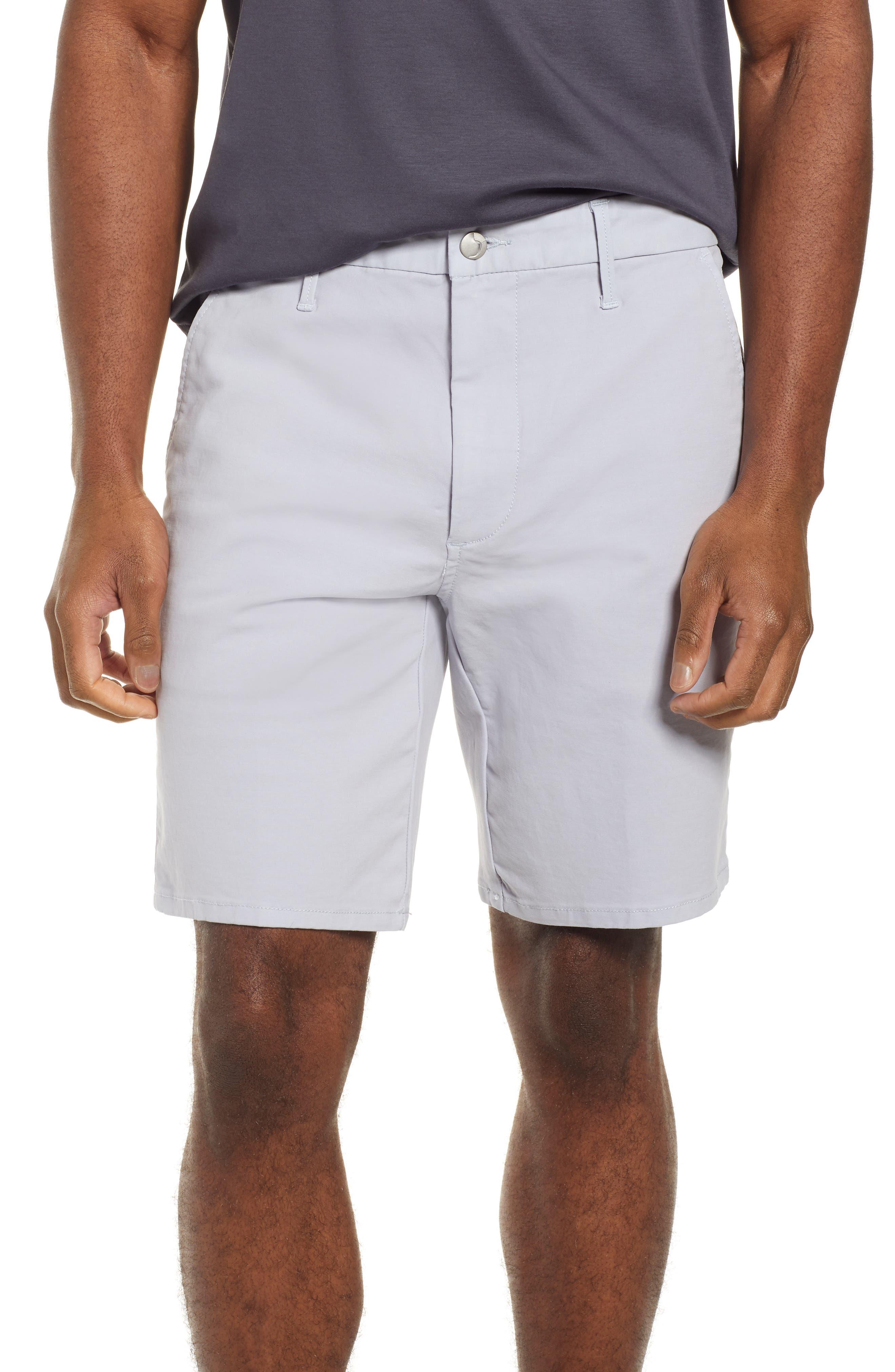 JOE'S Brixton Trim Fit Straight Leg Shorts, Main, color, GREY DAWN