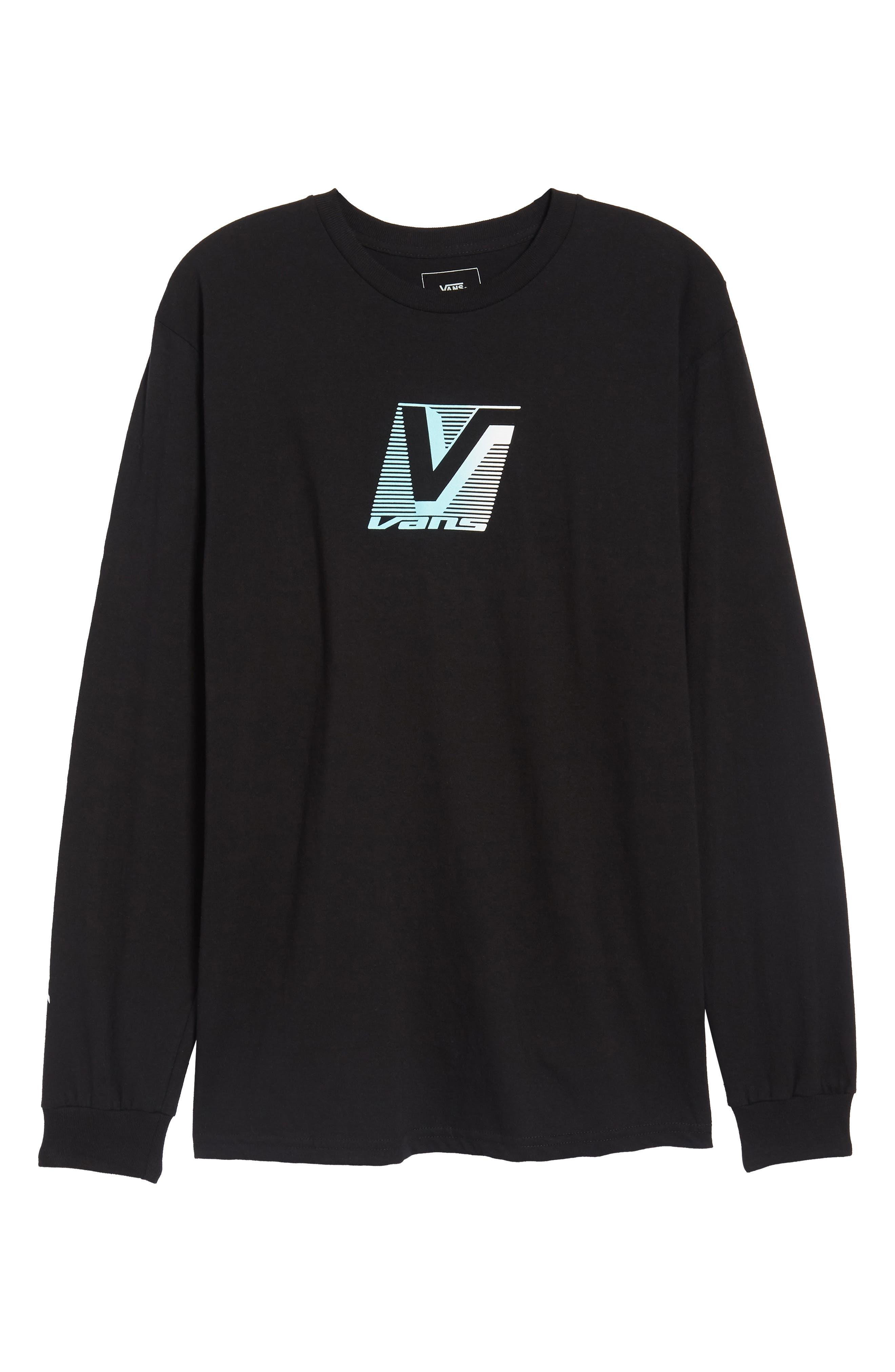 Grand Vans Graphic T-Shirt,                             Alternate thumbnail 6, color,                             001