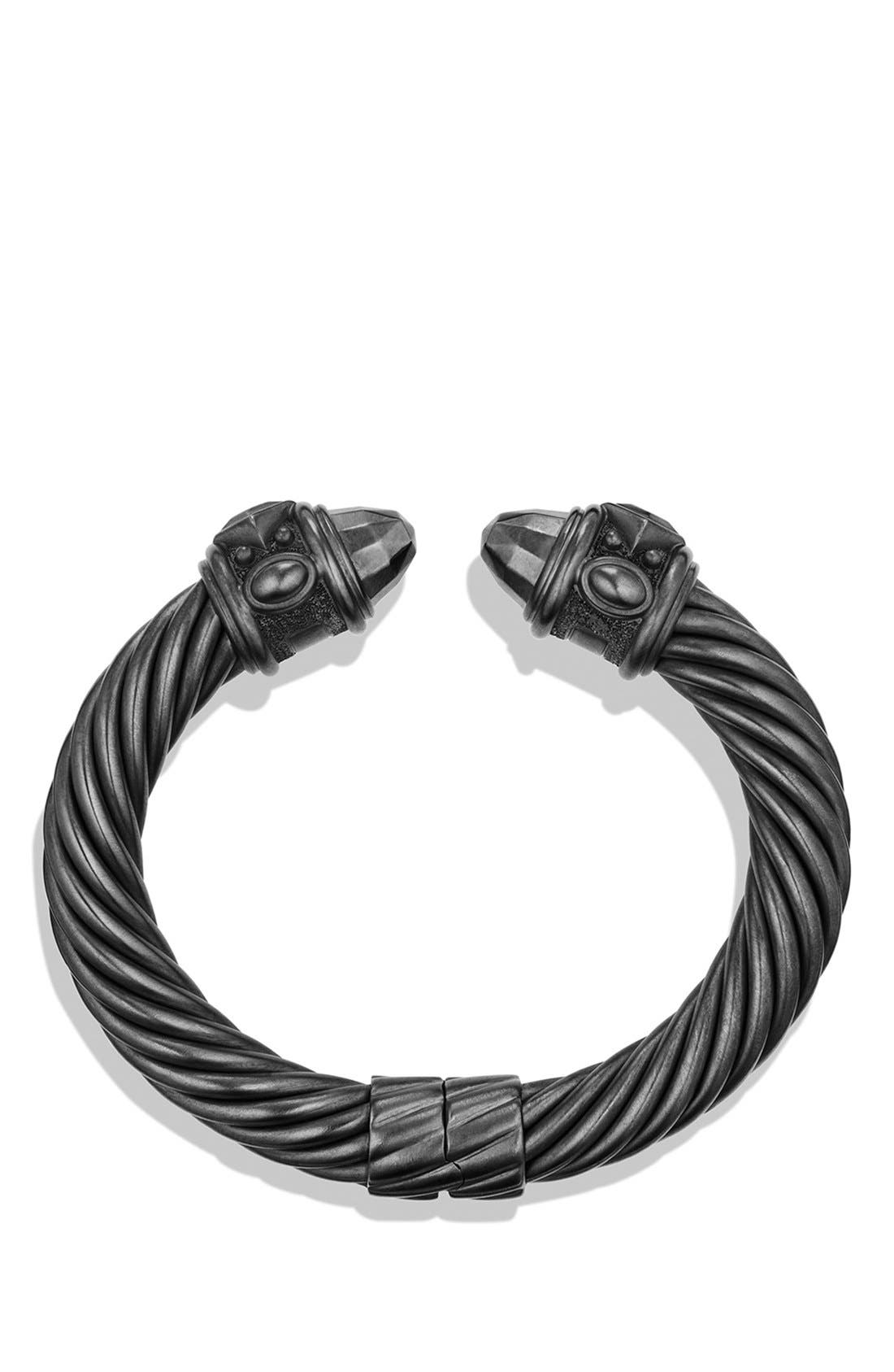 Renaissance Bracelet, 0mm,                             Alternate thumbnail 3, color,                             BLACKENED SILVER