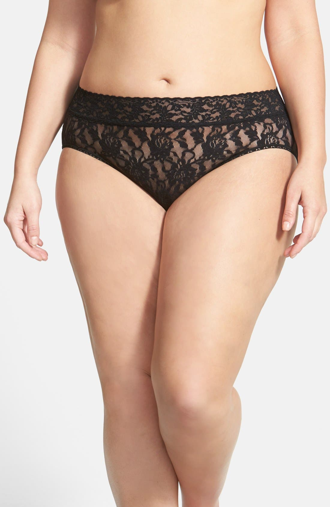 French Briefs,                         Main,                         color, BLACK