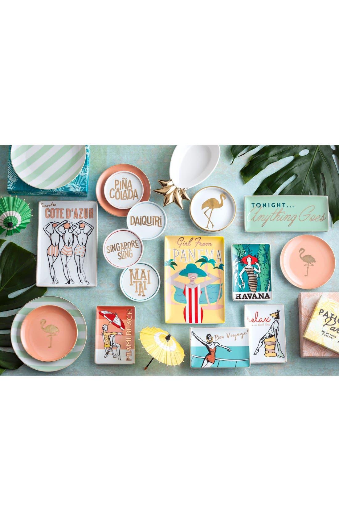 'Cote D'Azur' Porcelain Tray,                             Alternate thumbnail 2, color,                             100