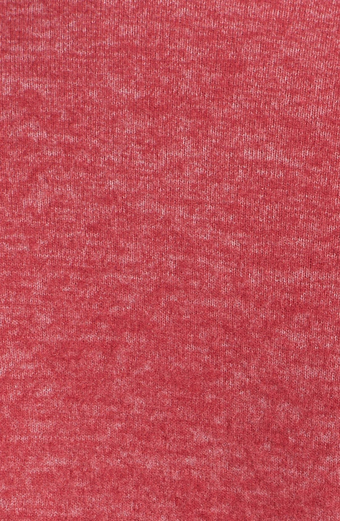 One-Button Fleece Cardigan,                             Alternate thumbnail 163, color,