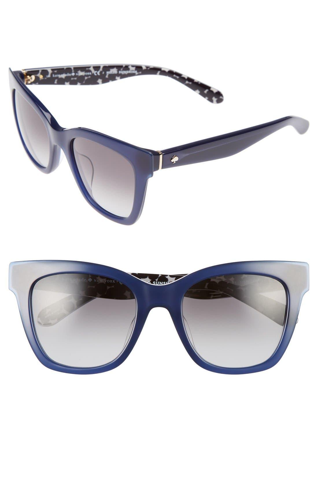 emmylou 51mm sunglasses,                             Main thumbnail 4, color,