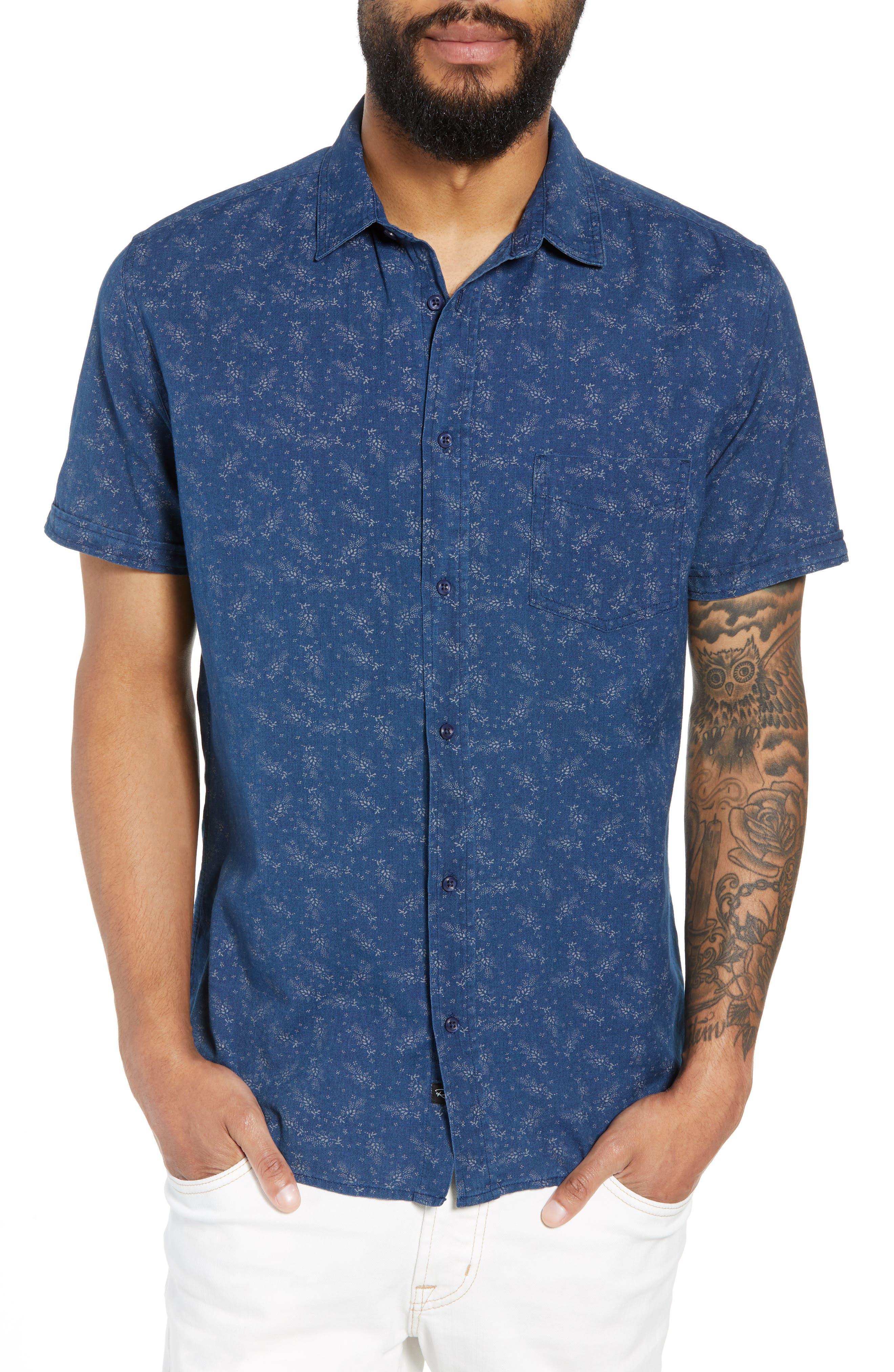 Carson Regular Fit Floral Print Sport Shirt,                         Main,                         color, BISBEE PRINT