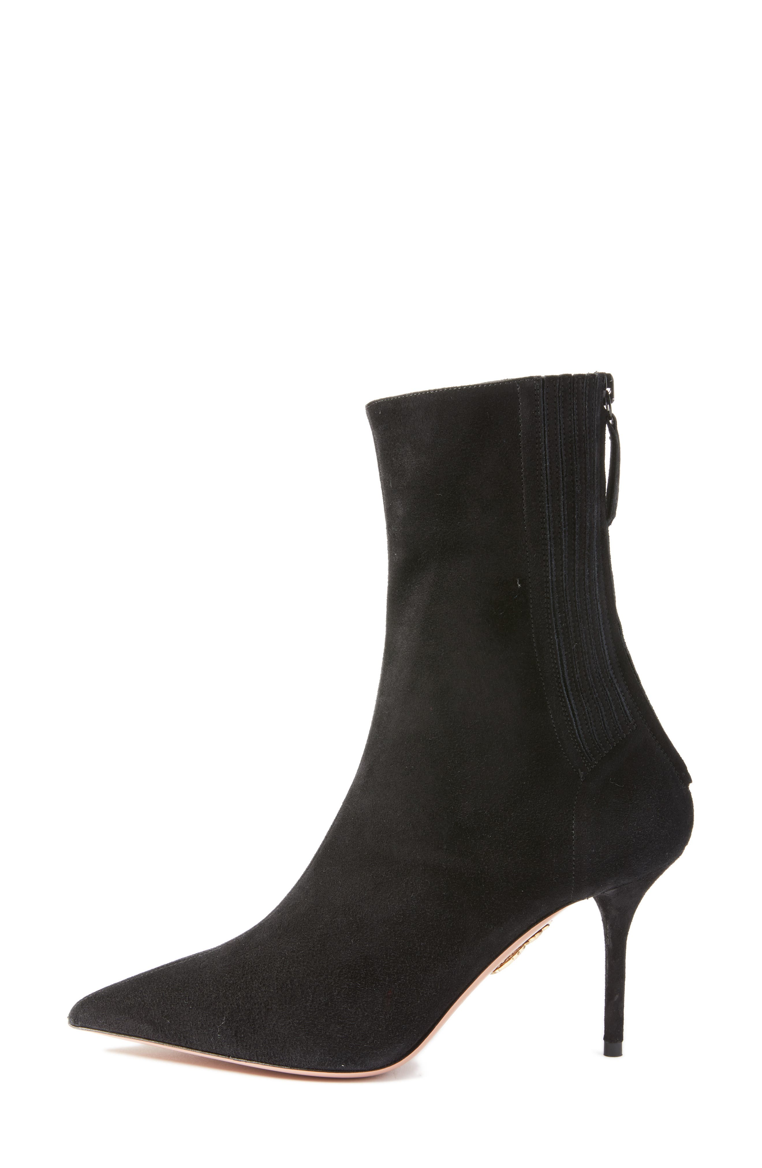 Saint Honore Pointy Toe Bootie,                             Alternate thumbnail 3, color,                             001