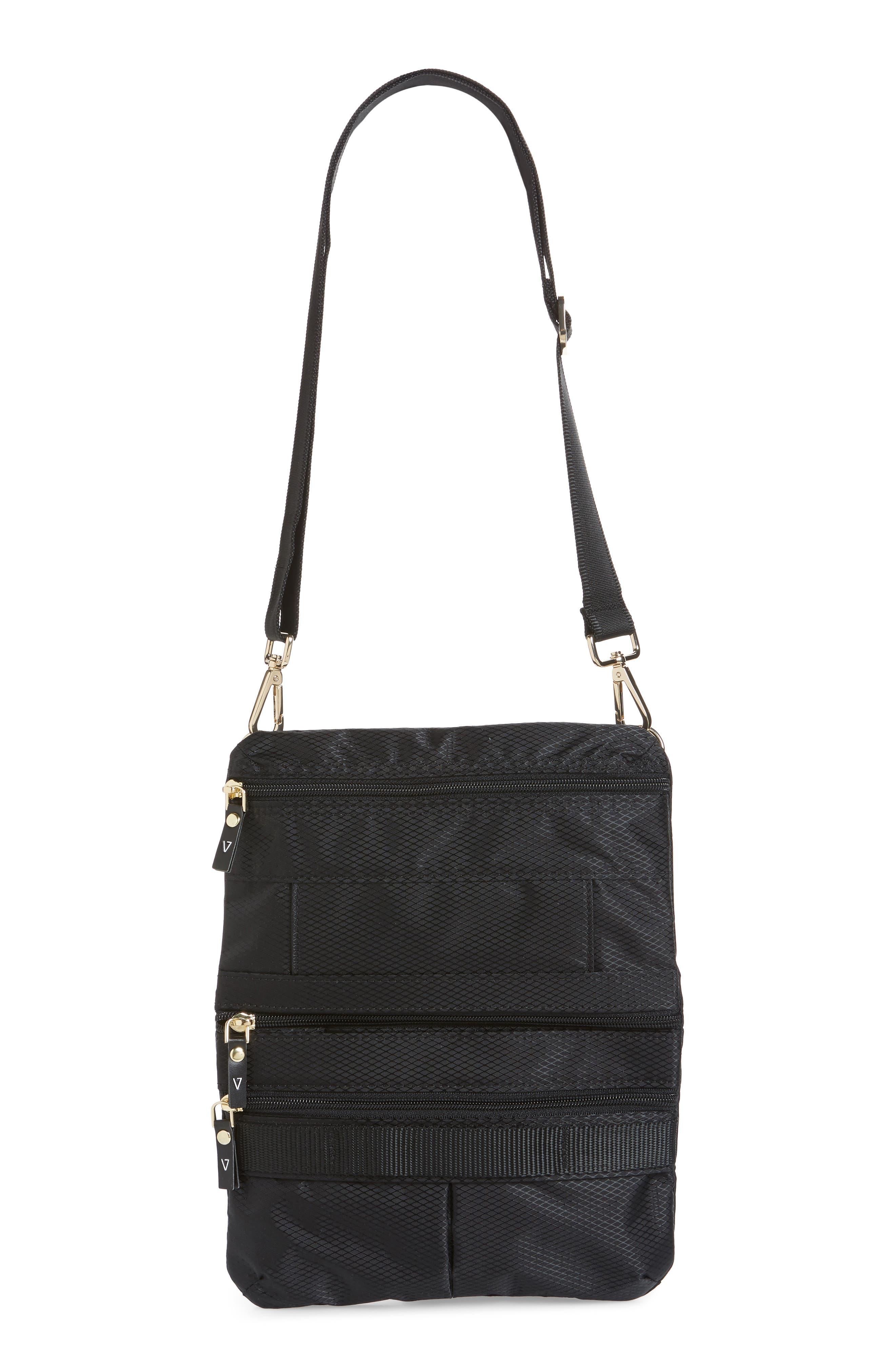 Go Black Expandable Belt Bag,                             Alternate thumbnail 9, color,                             BLACK