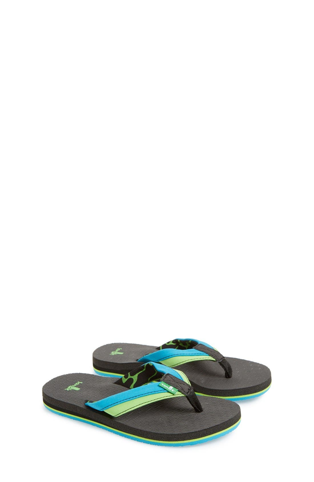 'Rootbeer Cozy' Lightweight Flip Flop Sandal,                             Main thumbnail 3, color,