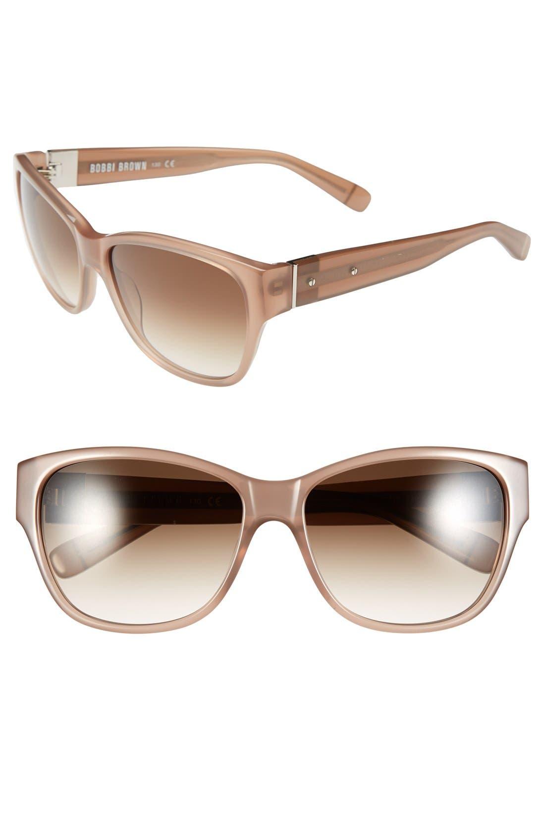'The Veronika' 57mm Sunglasses,                             Main thumbnail 2, color,