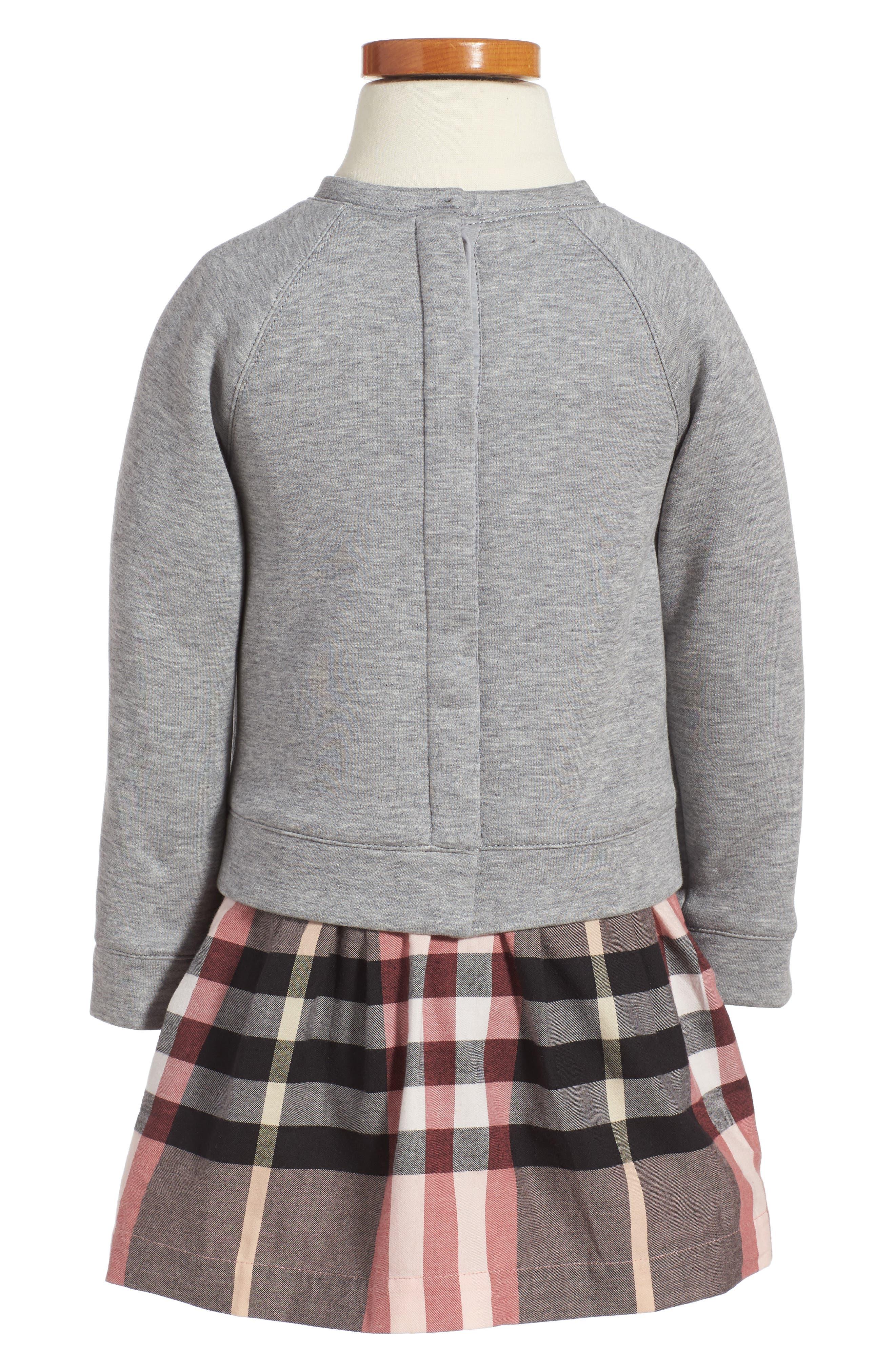 Mini Francine Sweatshirt Dress,                             Alternate thumbnail 2, color,