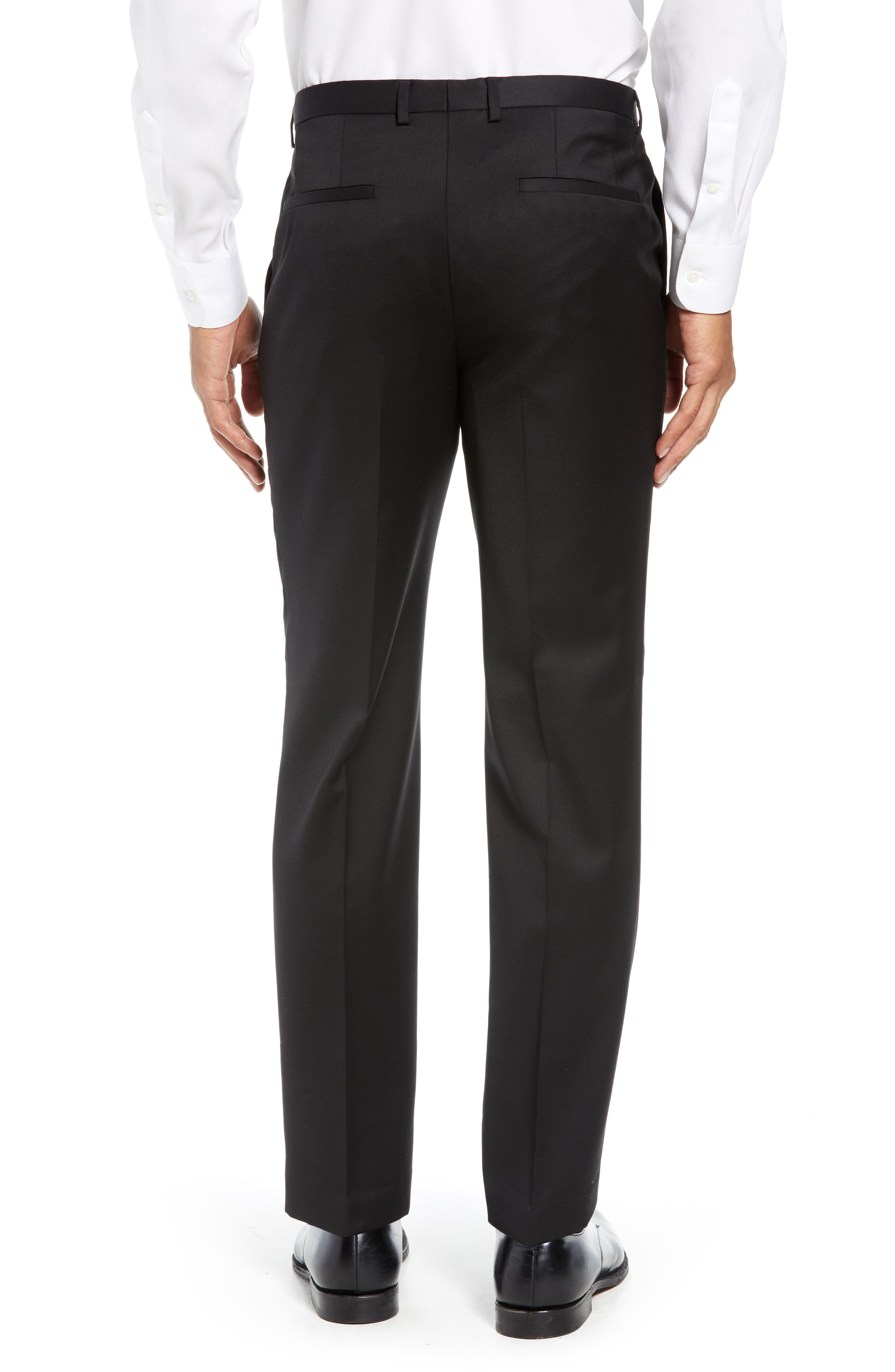 Hartley Extra Slim Trousers,                             Alternate thumbnail 2, color,                             BLACK