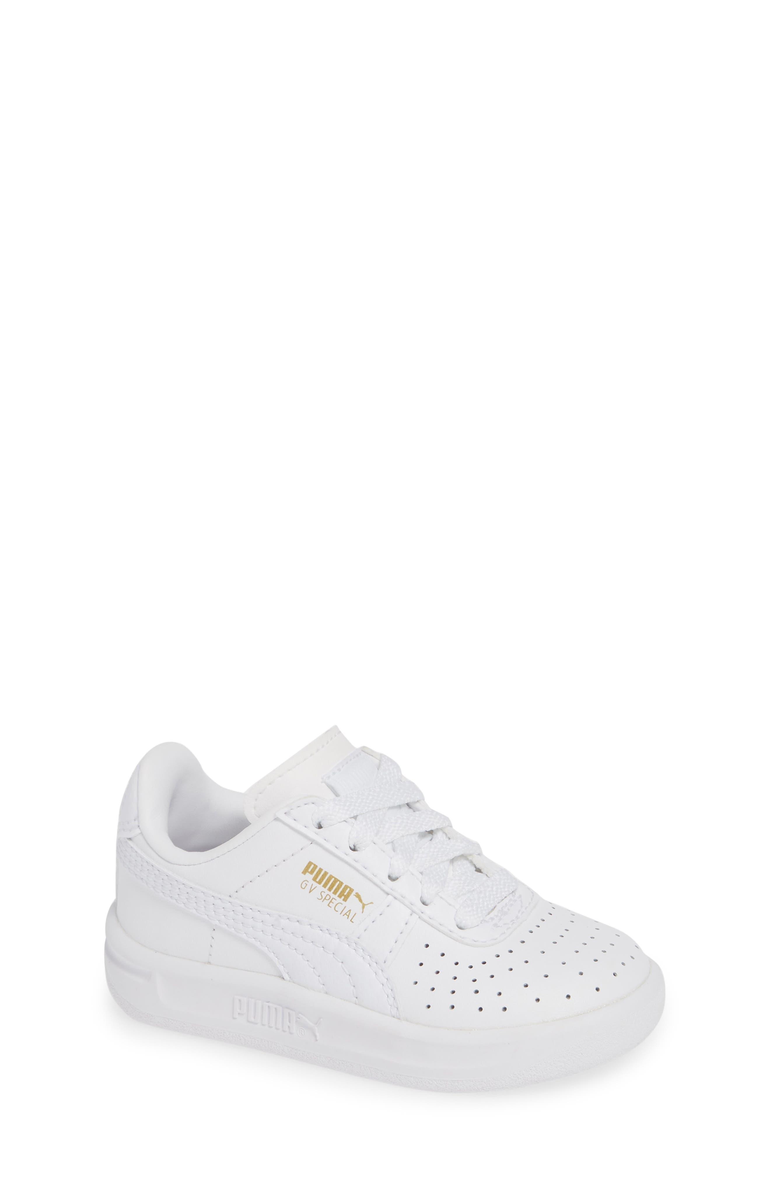 GV Special Sneaker,                             Main thumbnail 1, color,                             PUMA WHITE-PUMA TEAM GOLD