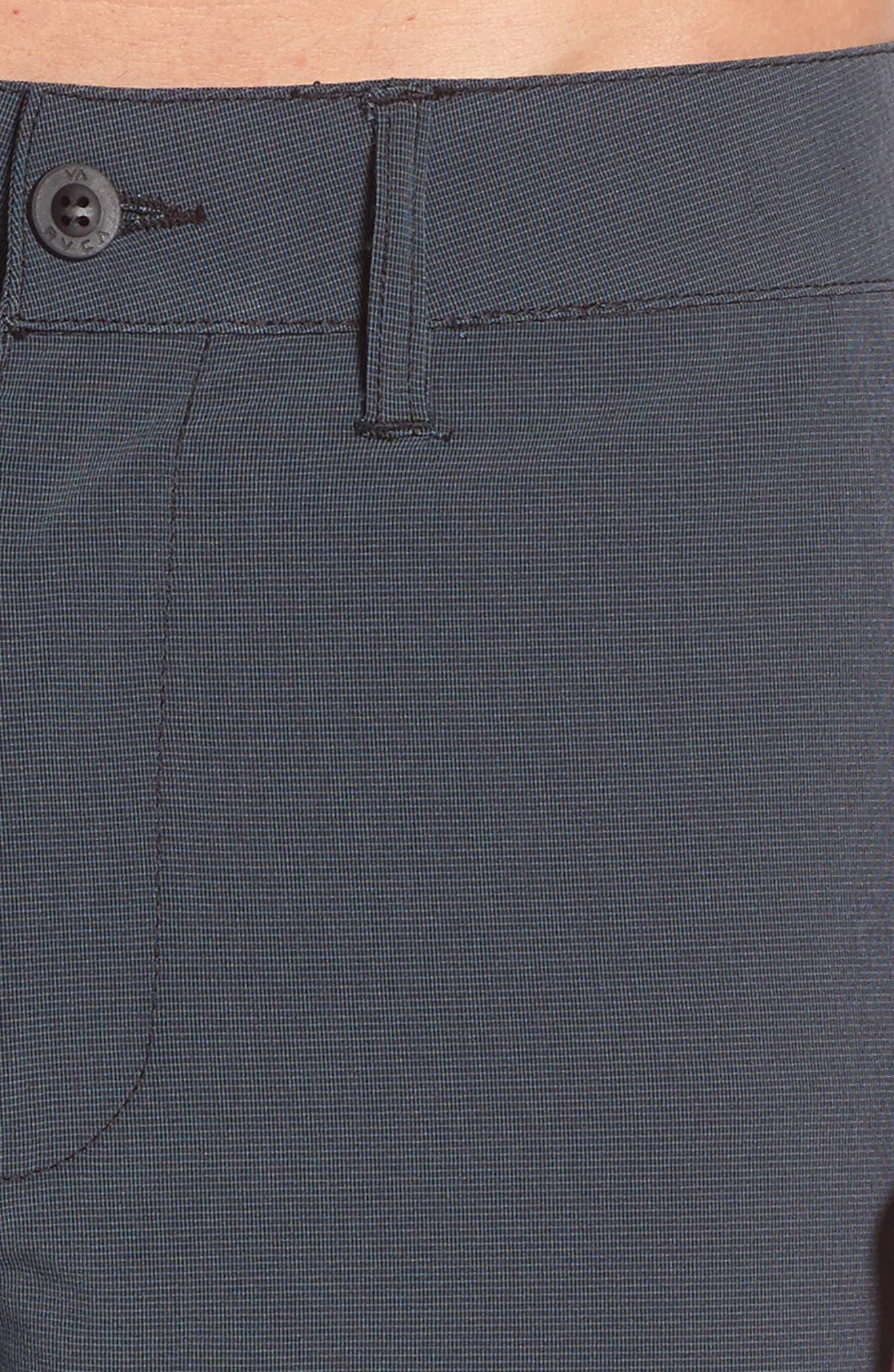 Grid Hybrid Shorts,                             Alternate thumbnail 4, color,                             001