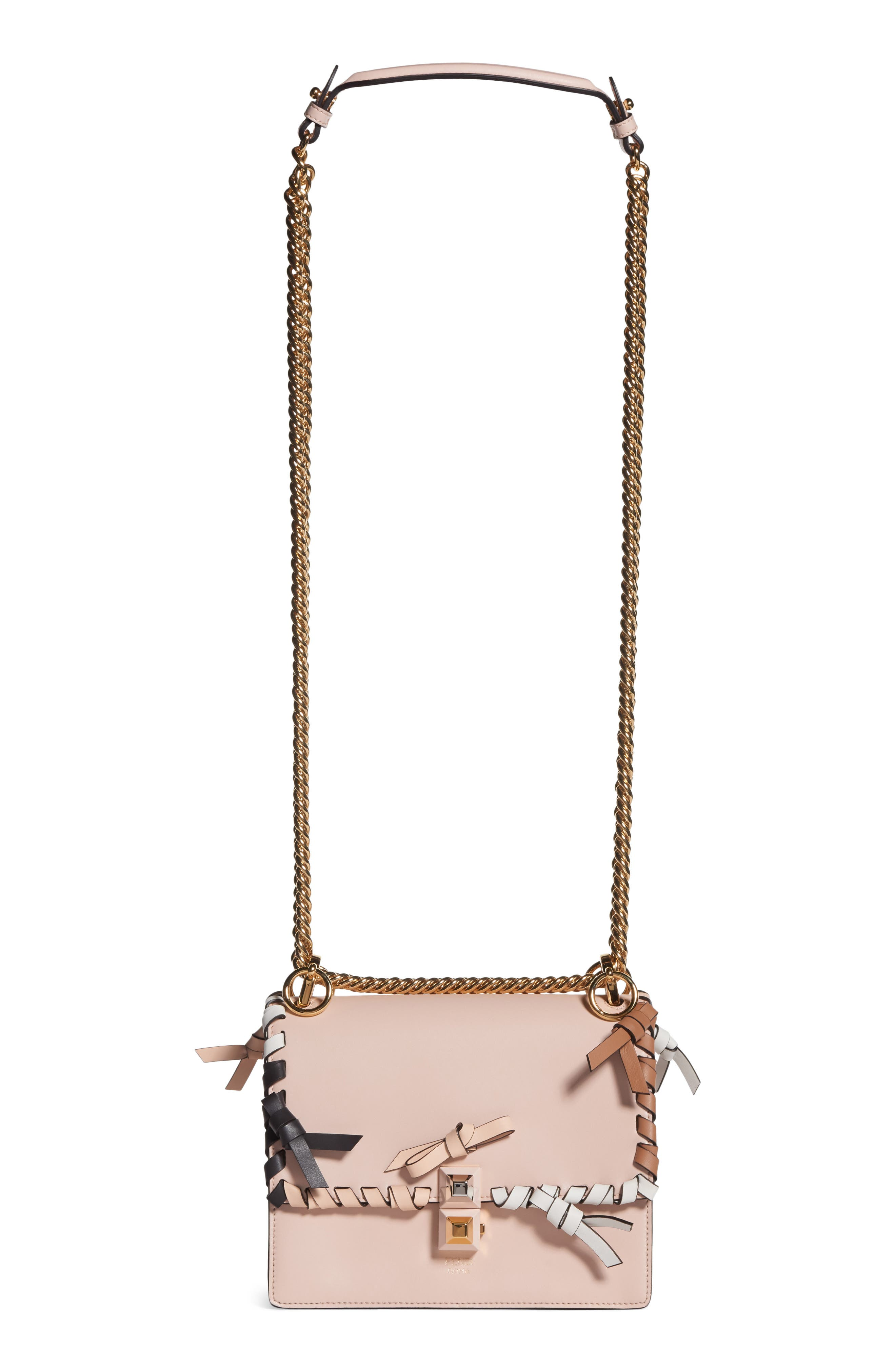 Small Kan Whipstitch Leather Shoulder Bag,                             Main thumbnail 1, color,                             PLASTER MULTI