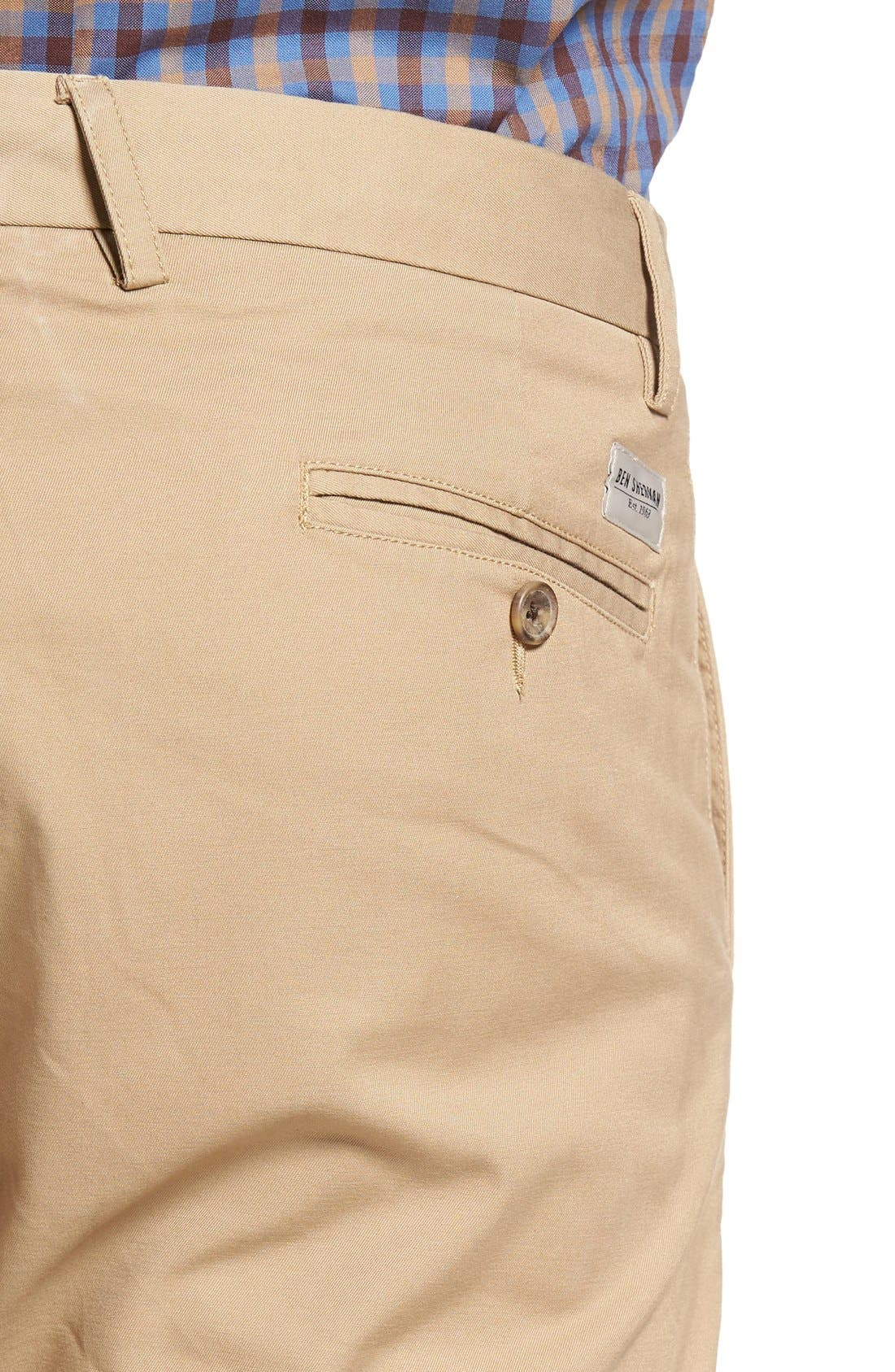 Slim Fit Stretch Chinos,                             Alternate thumbnail 55, color,