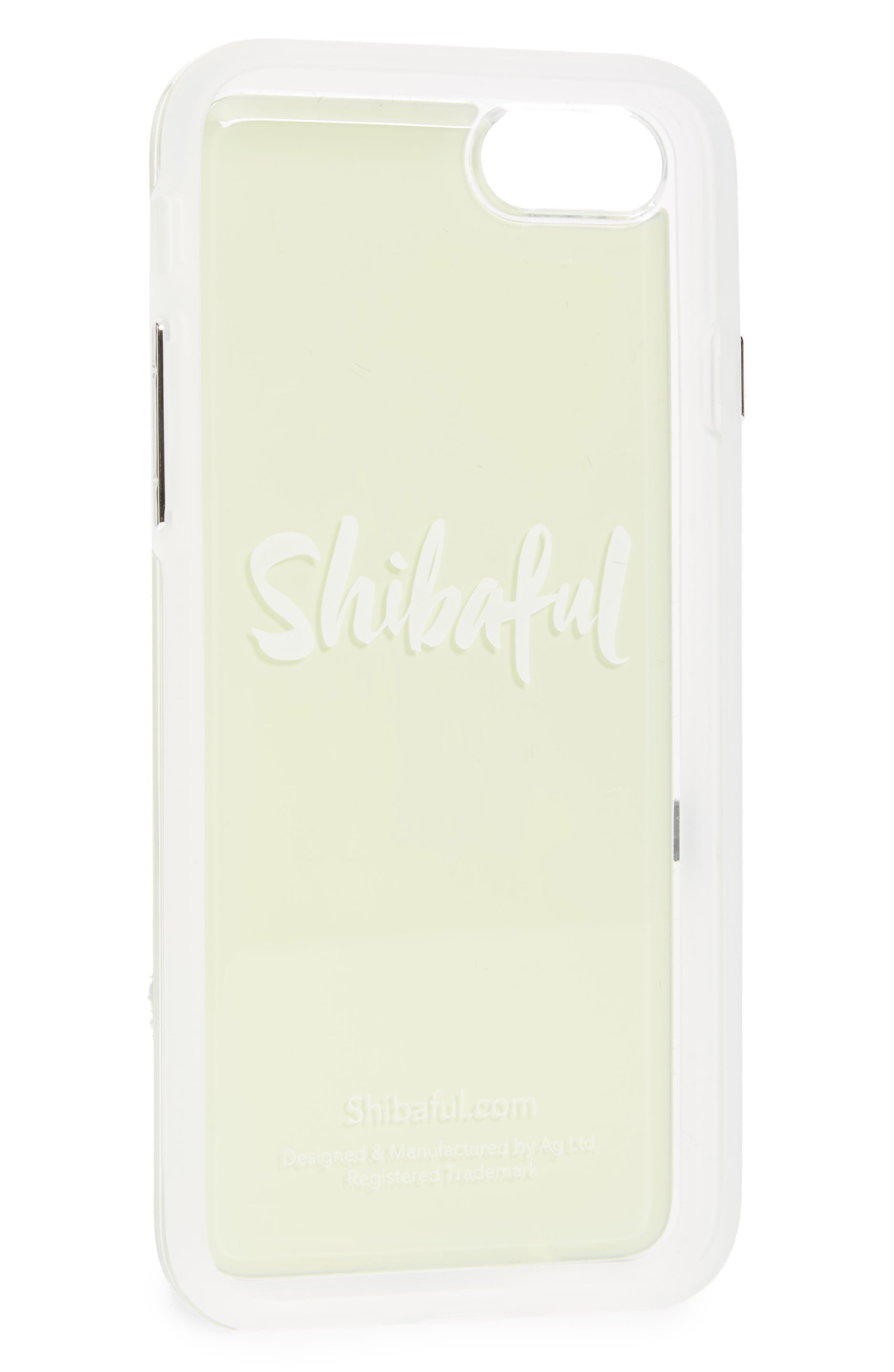 Mokko Bara Flower Portable Park iPhone 7/8 & 7/8 Plus Case,                             Main thumbnail 1, color,                             ORIGINAL GREEN