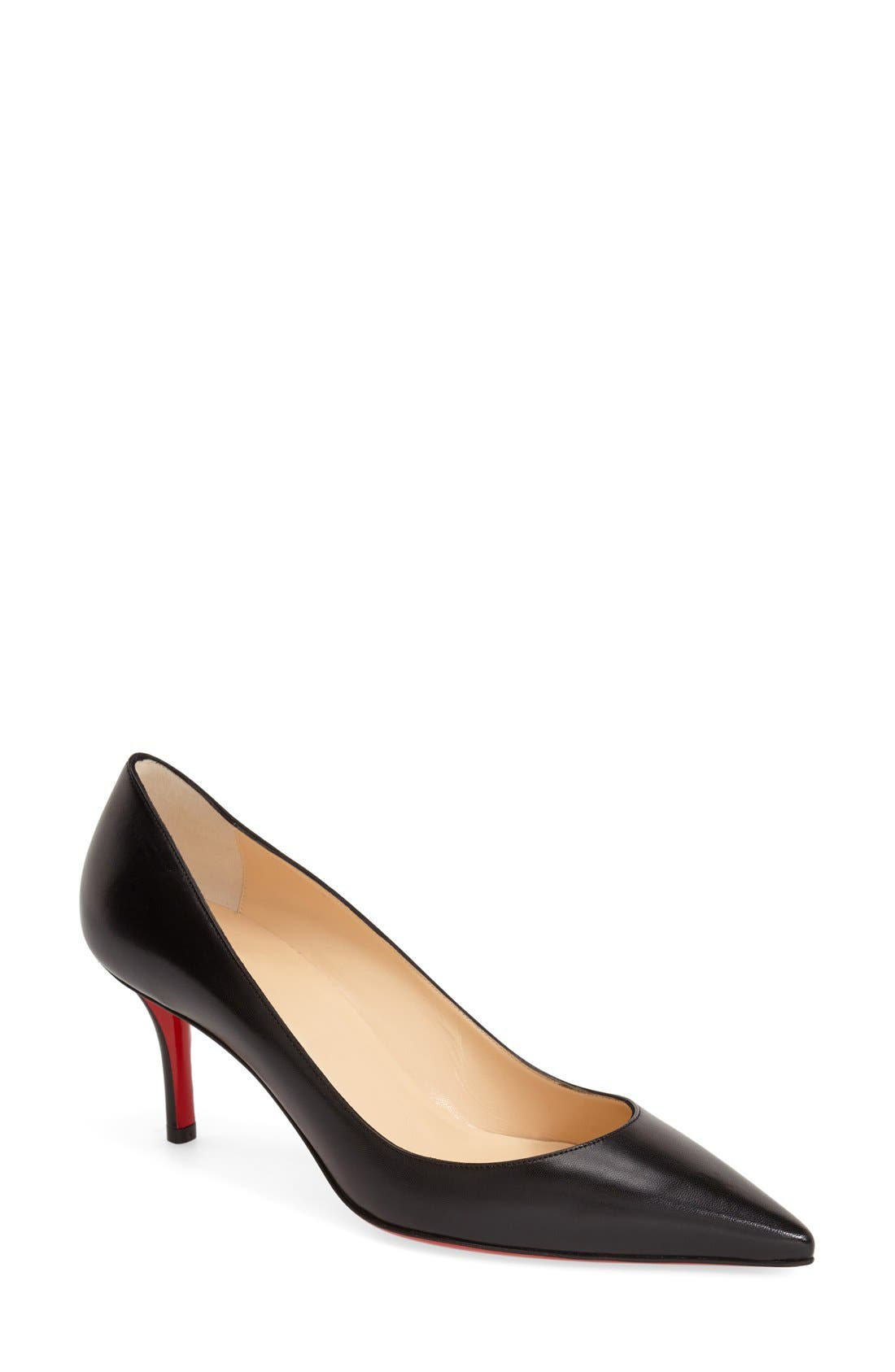 'Apostrophy' Pointy Toe Pump, Main, color, 001