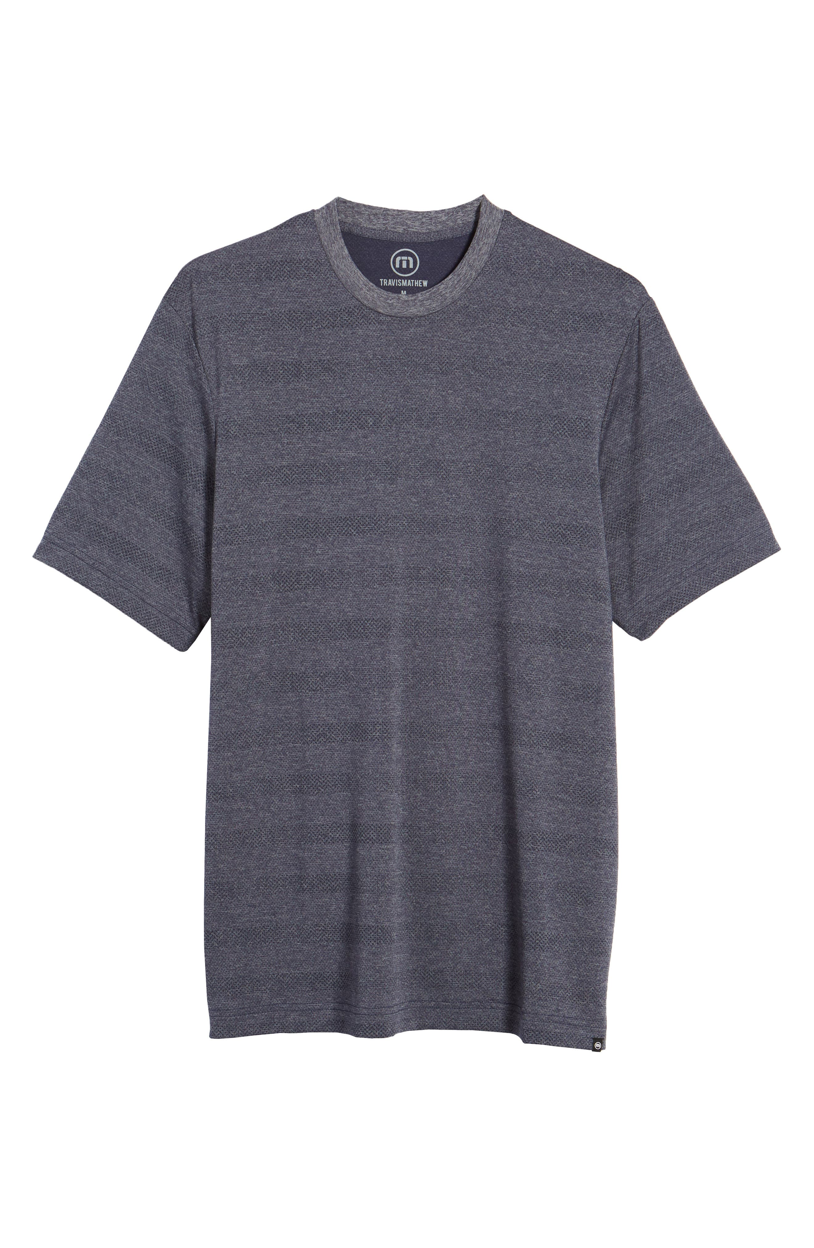 Upshift T-Shirt,                             Alternate thumbnail 6, color,                             HEATHER GRIFFIN