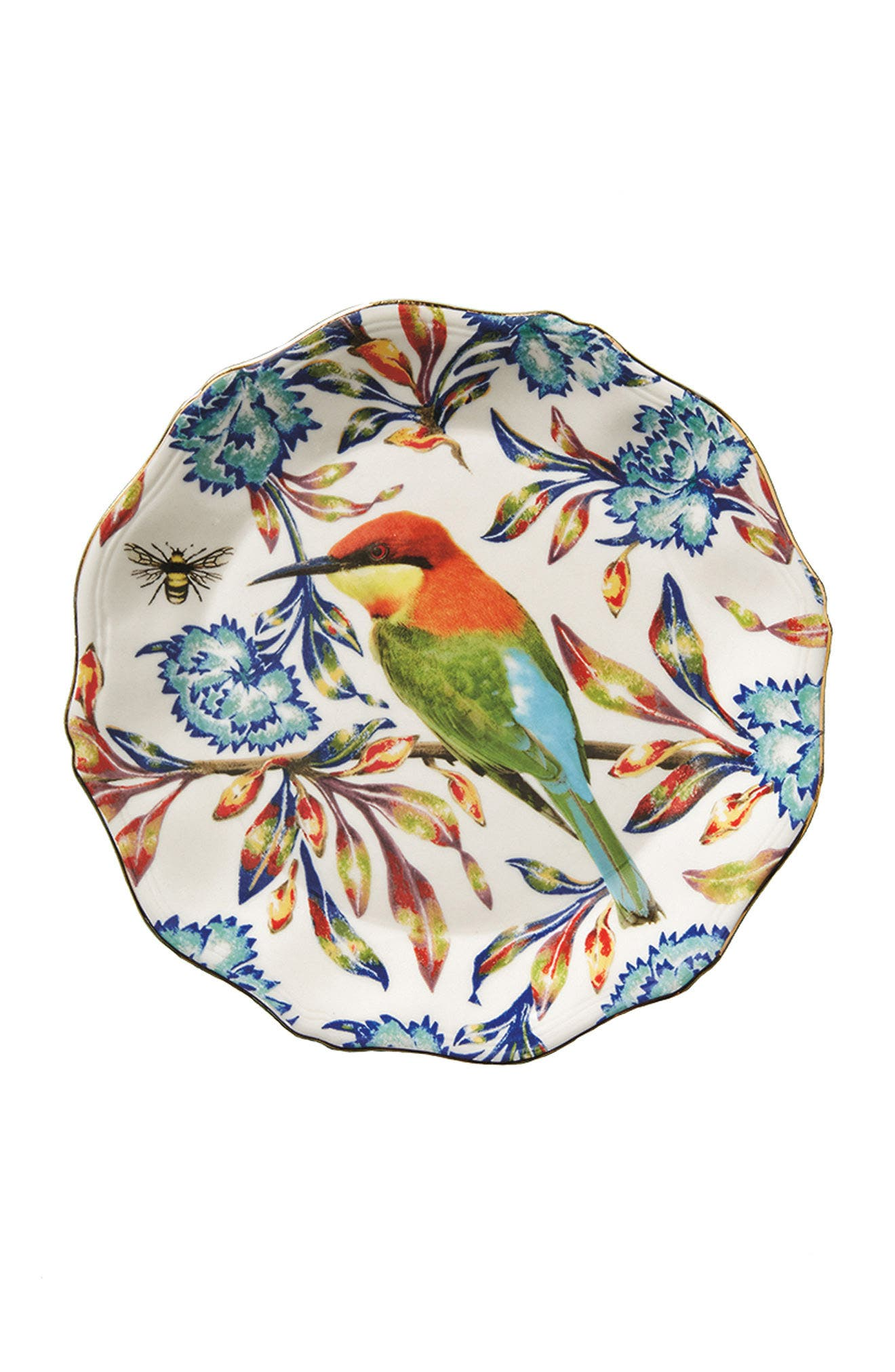 Nature Table Dessert Plate,                             Alternate thumbnail 4, color,                             400