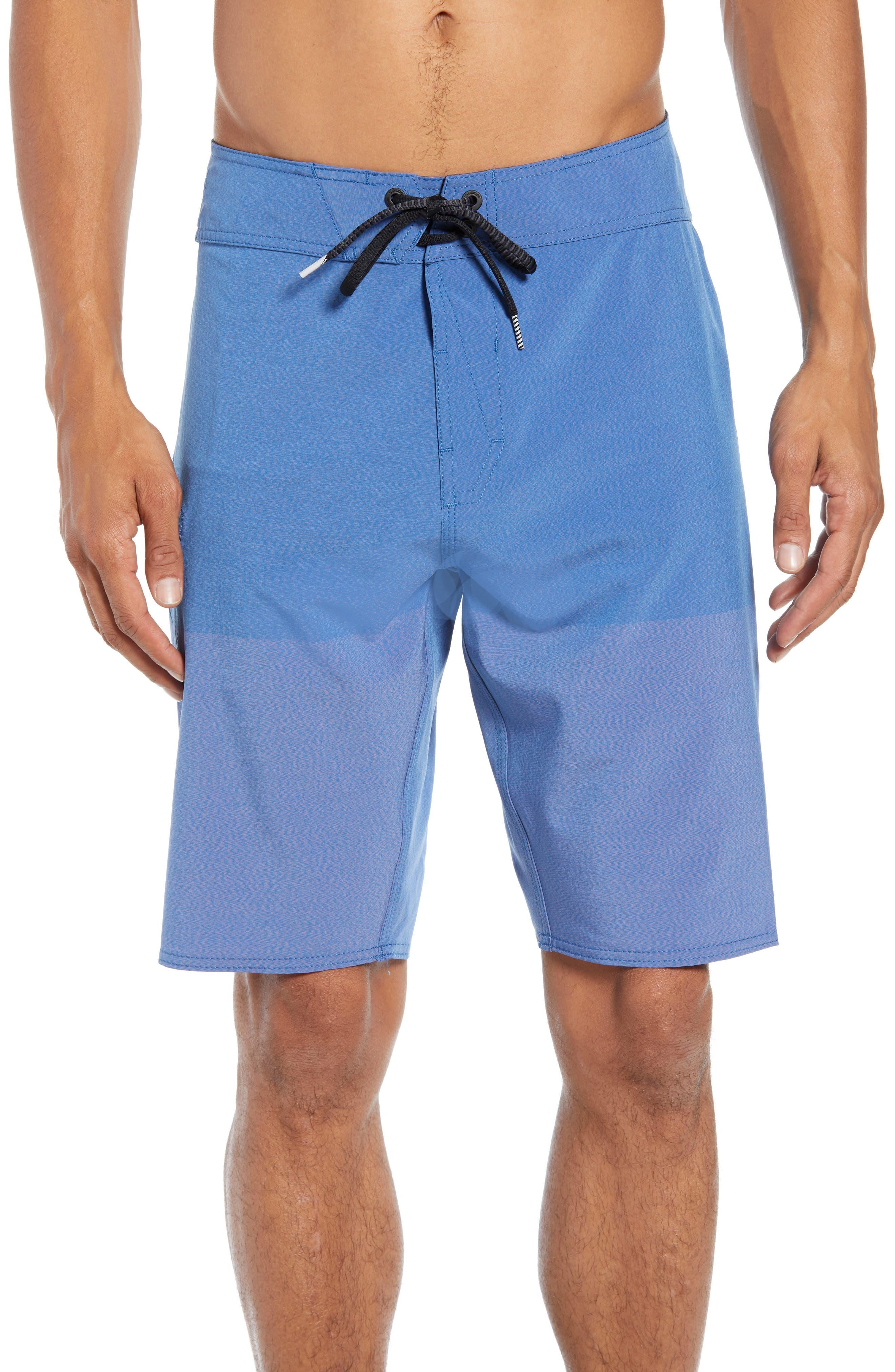 Lido Heather Board Shorts,                         Main,                         color, JASPERBLUE