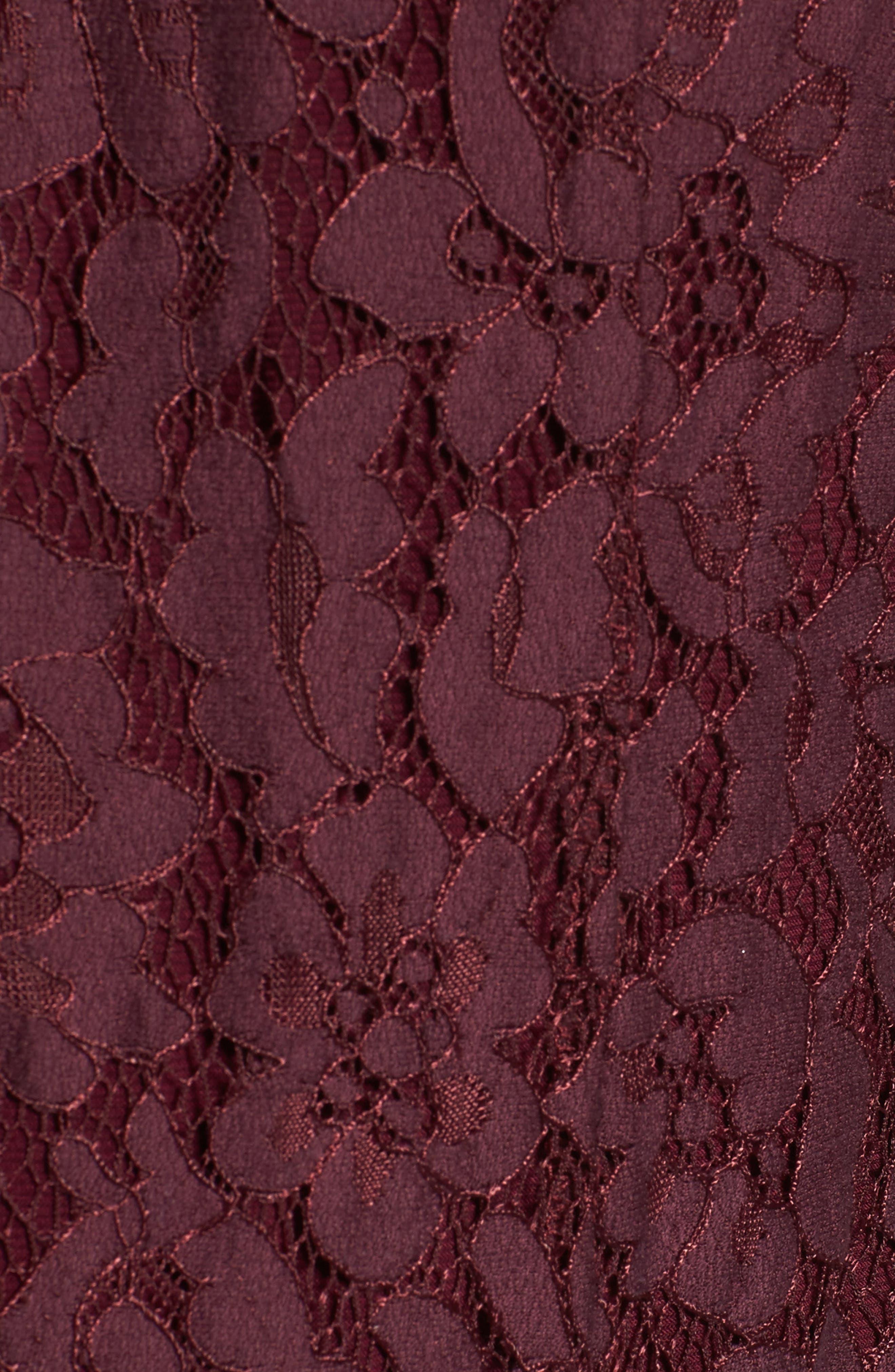 Rosalyn Lace Thong Bodysuit,                             Alternate thumbnail 5, color,                             938