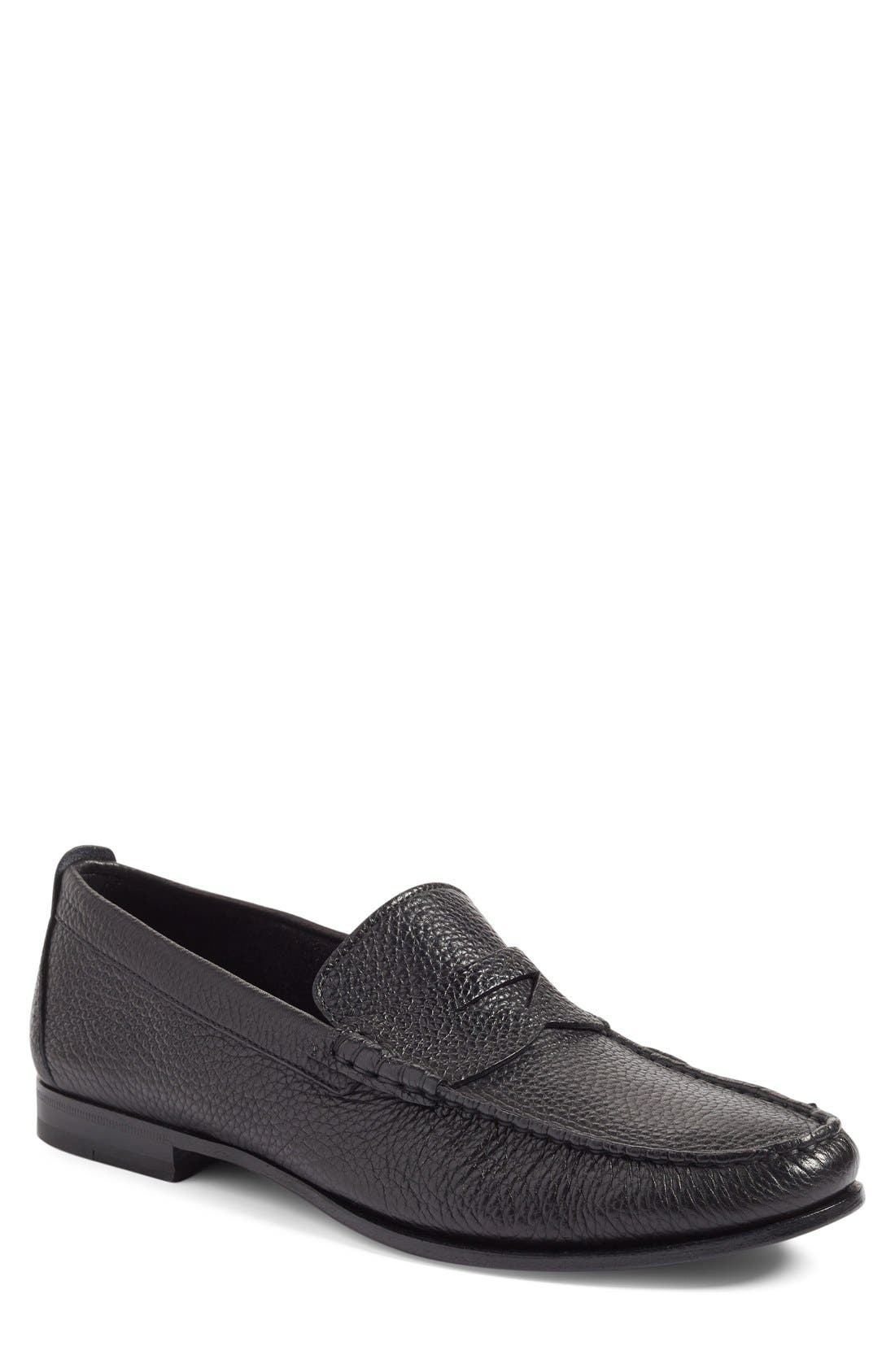 'Carmel' Penny Loafer,                         Main,                         color, 001