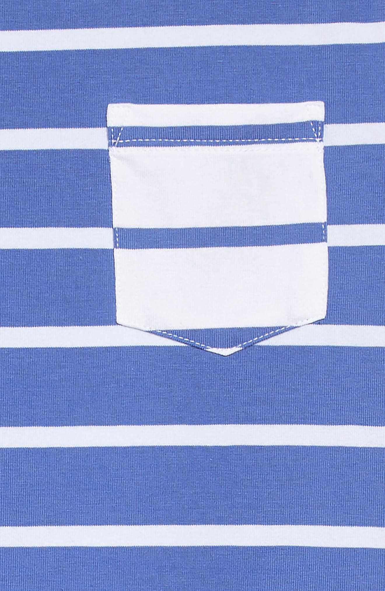 Stripe T-Shirt Dress,                             Alternate thumbnail 3, color,                             400